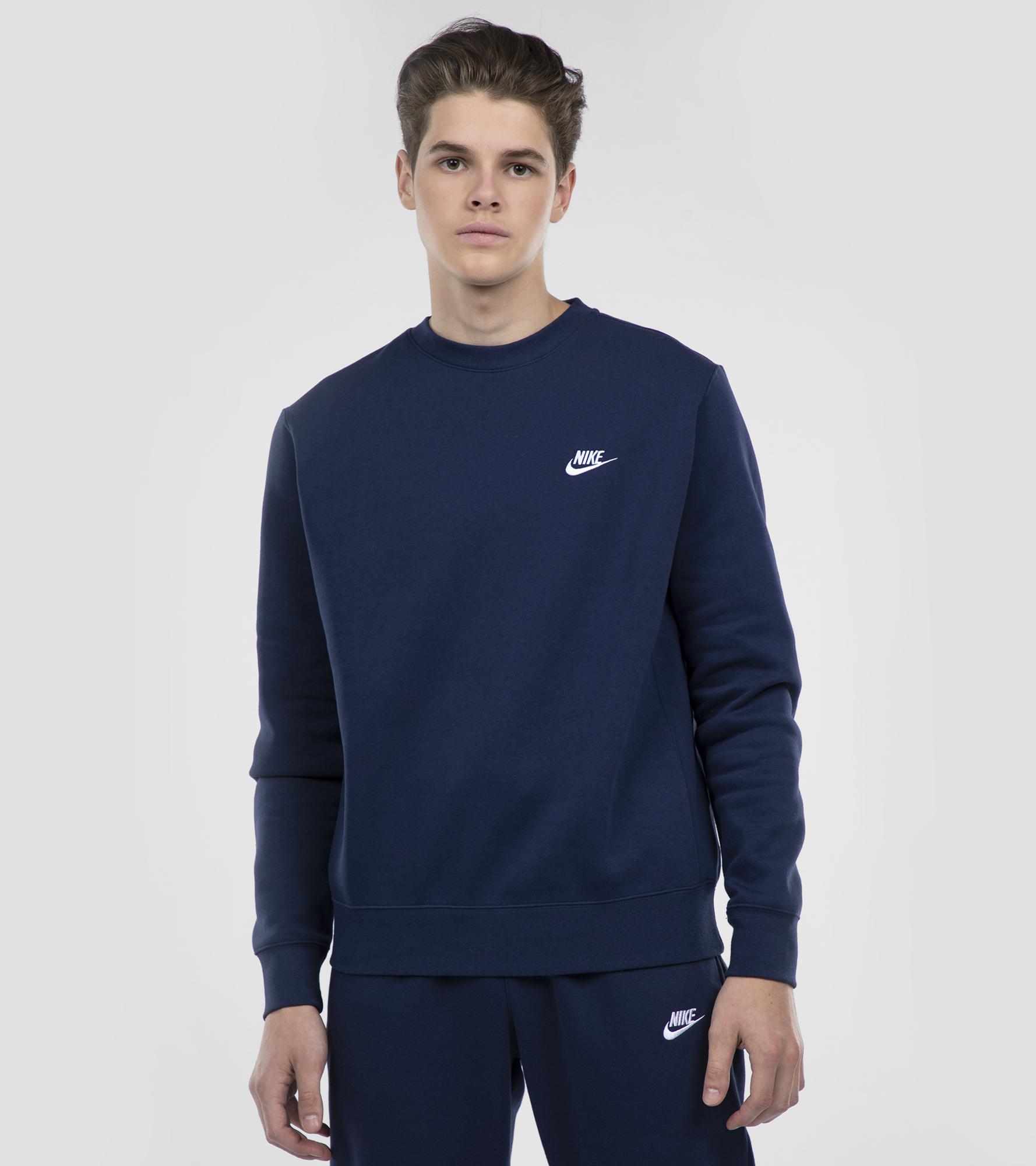 Фото Nike Свитшот мужской Nike Club Crew, размер 52-54