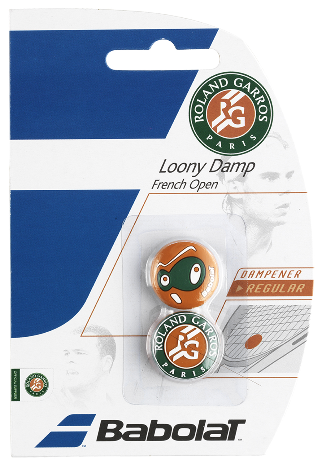 Babolat Виброгаситель Babolat Loony Damp French Open X2