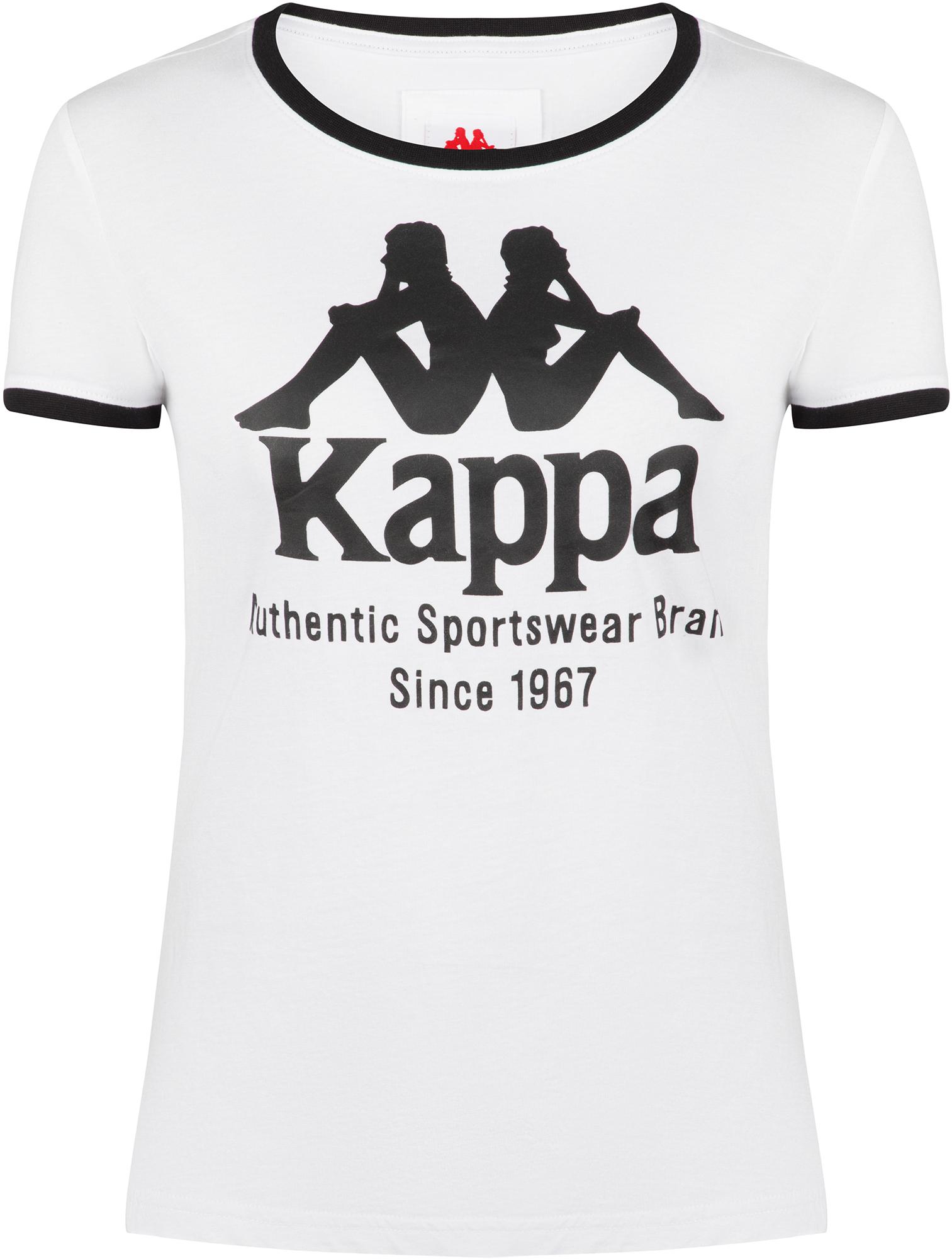 Kappa Футболка женская Kappa, размер 46 цена