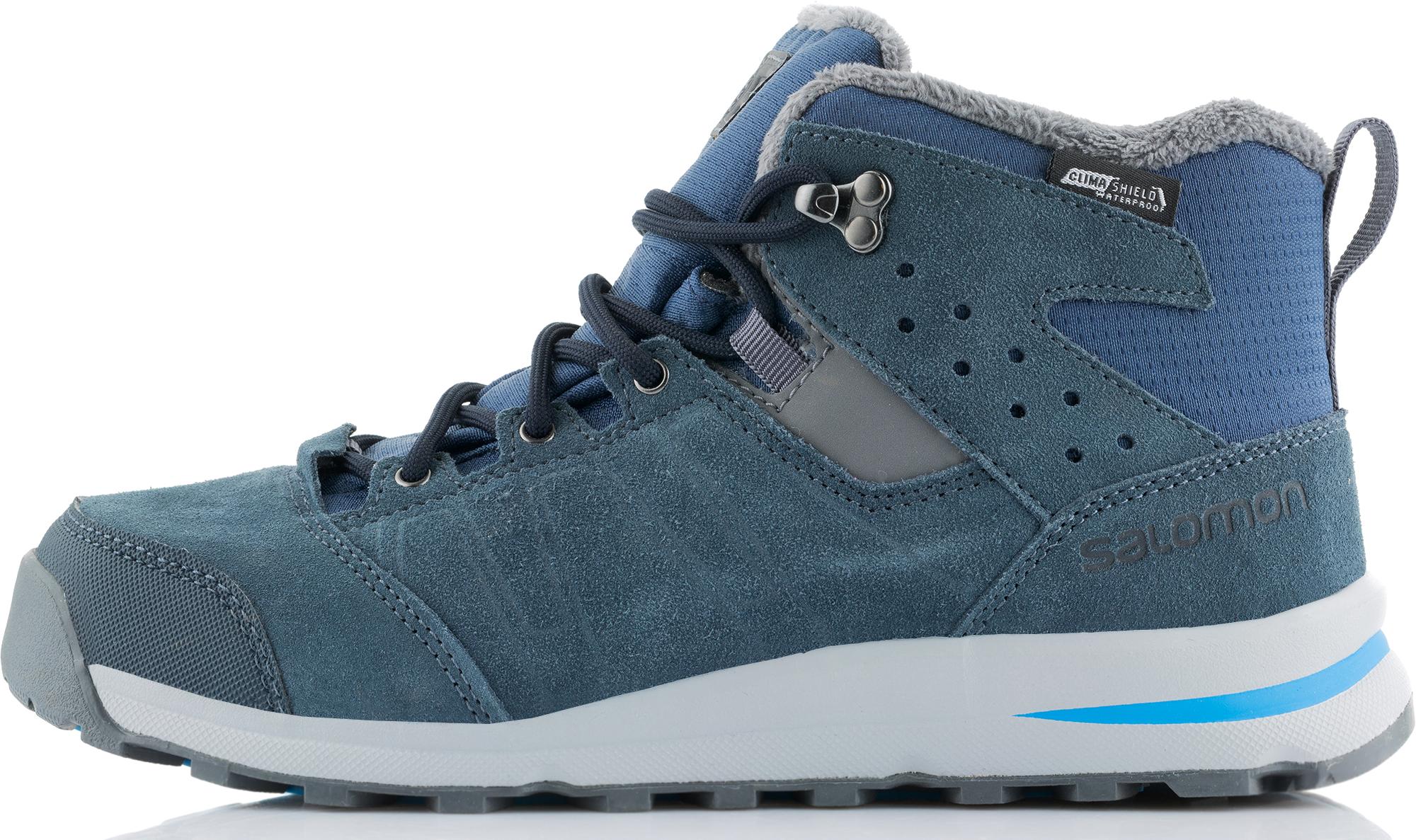 Salomon Ботинки утепленные для мальчиков Salomon Utility, размер 33 ботинки salomon ботинки shoes utility ts cswp j swam raw