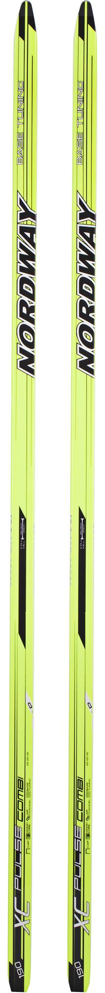 Nordway Беговые лыжи Nordway XC Pulse Combi лыжи беговые tisa top universal с креплением цвет желтый белый черный рост 182 см