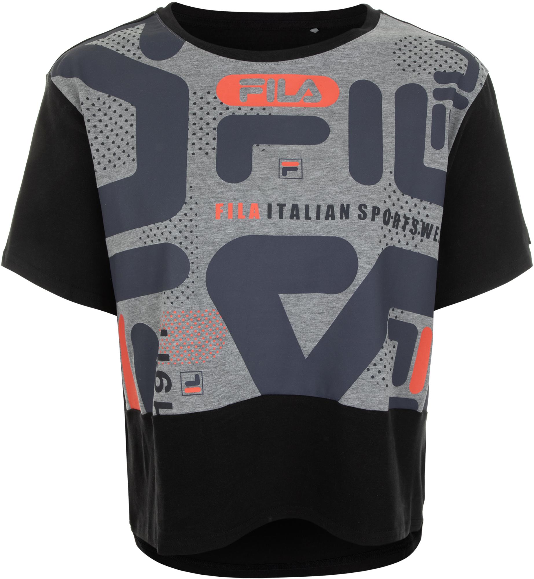 Fila Футболка женская Fila, размер 44 fila футболка с длинным рукавом женская fila размер 52
