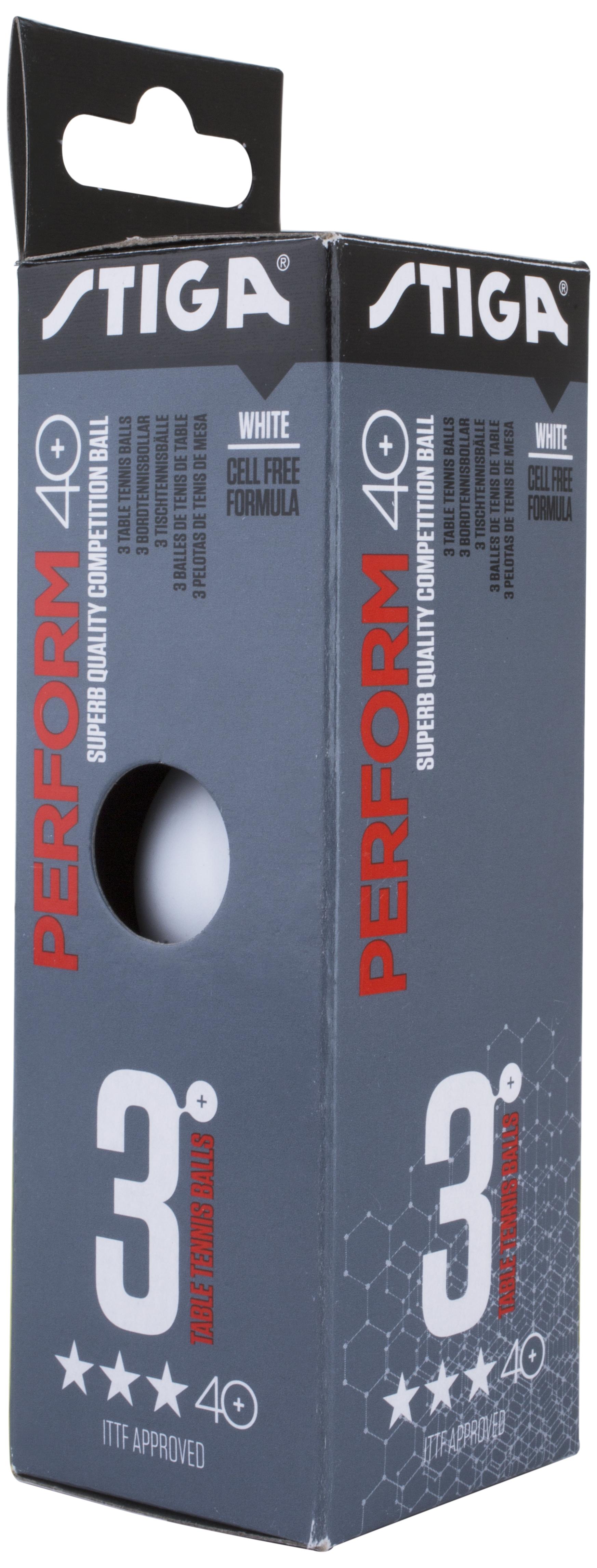 Stiga Мячи для настольного тенниса Stiga, 3 шт., размер Без размера