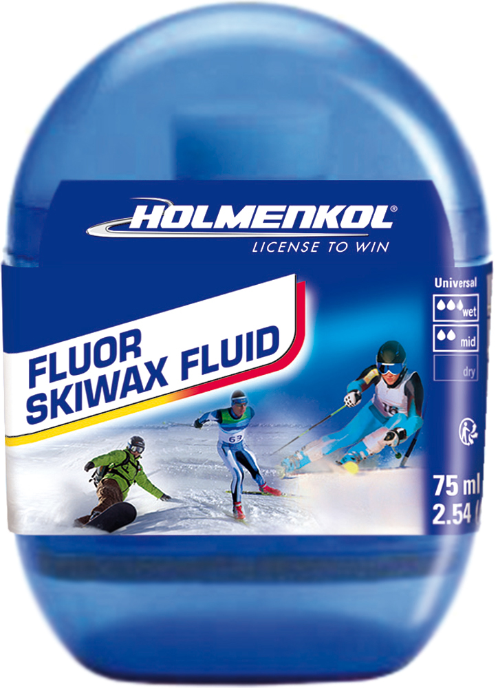 HOLMENKOL скольжения быстрого нанесения HOLMENKOL FluorSkiwaxFluid
