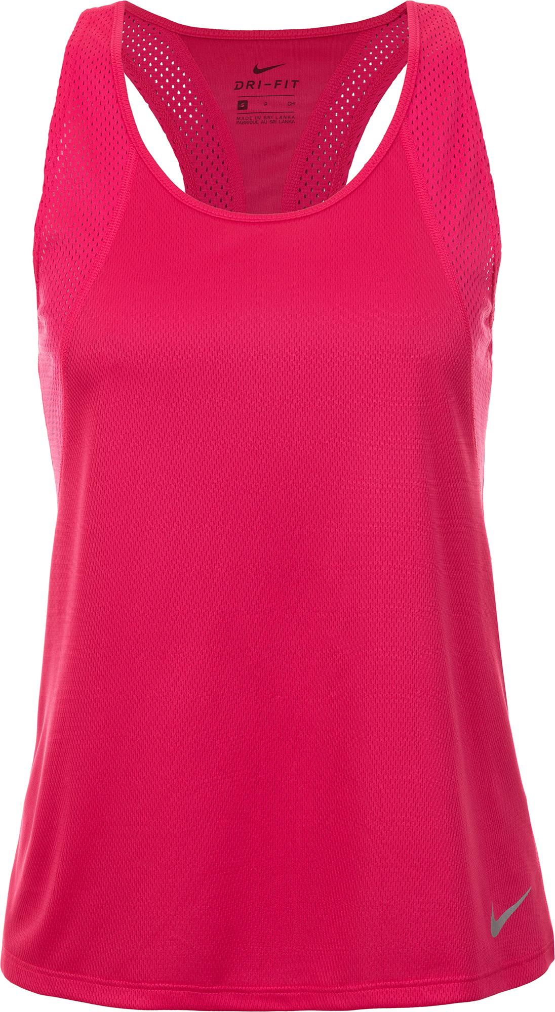 Nike Майка женская Nike Running, размер 40-42 nike майка женская nike dry