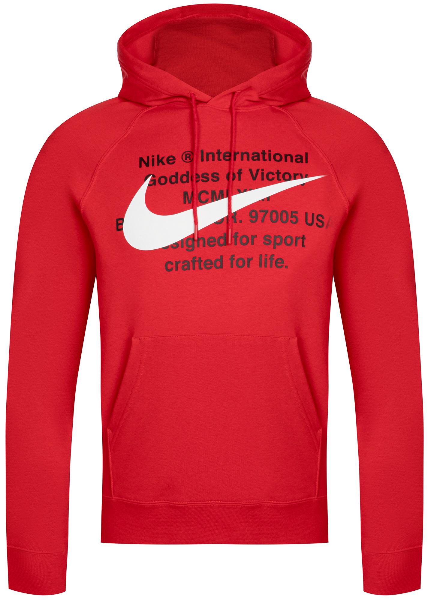 Nike Худи мужская Nike Sportswear Swoosh, размер 52-54 худи superdry оранжевый 54 размер
