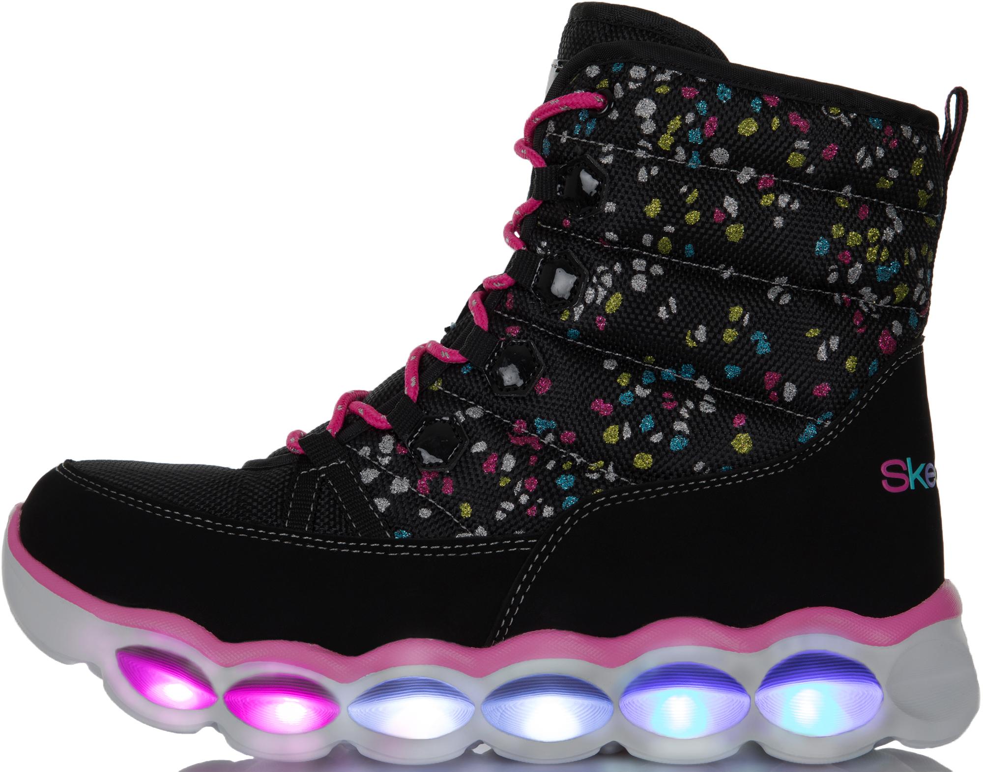 Skechers Сапоги для девочек Lumi-Luxe, размер 28,5