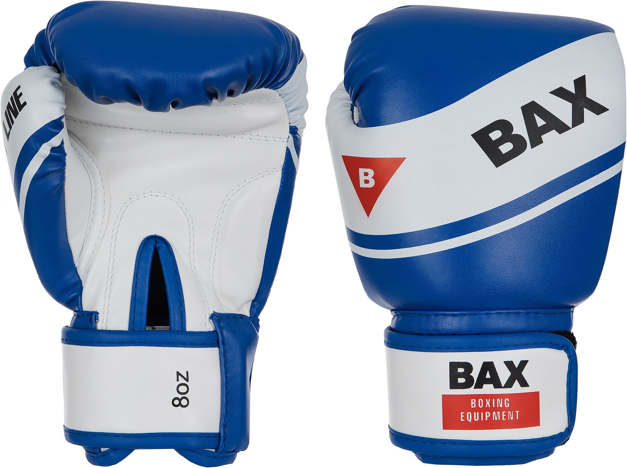Bax Перчатки боксеркие Bax, размер 10 oz цена