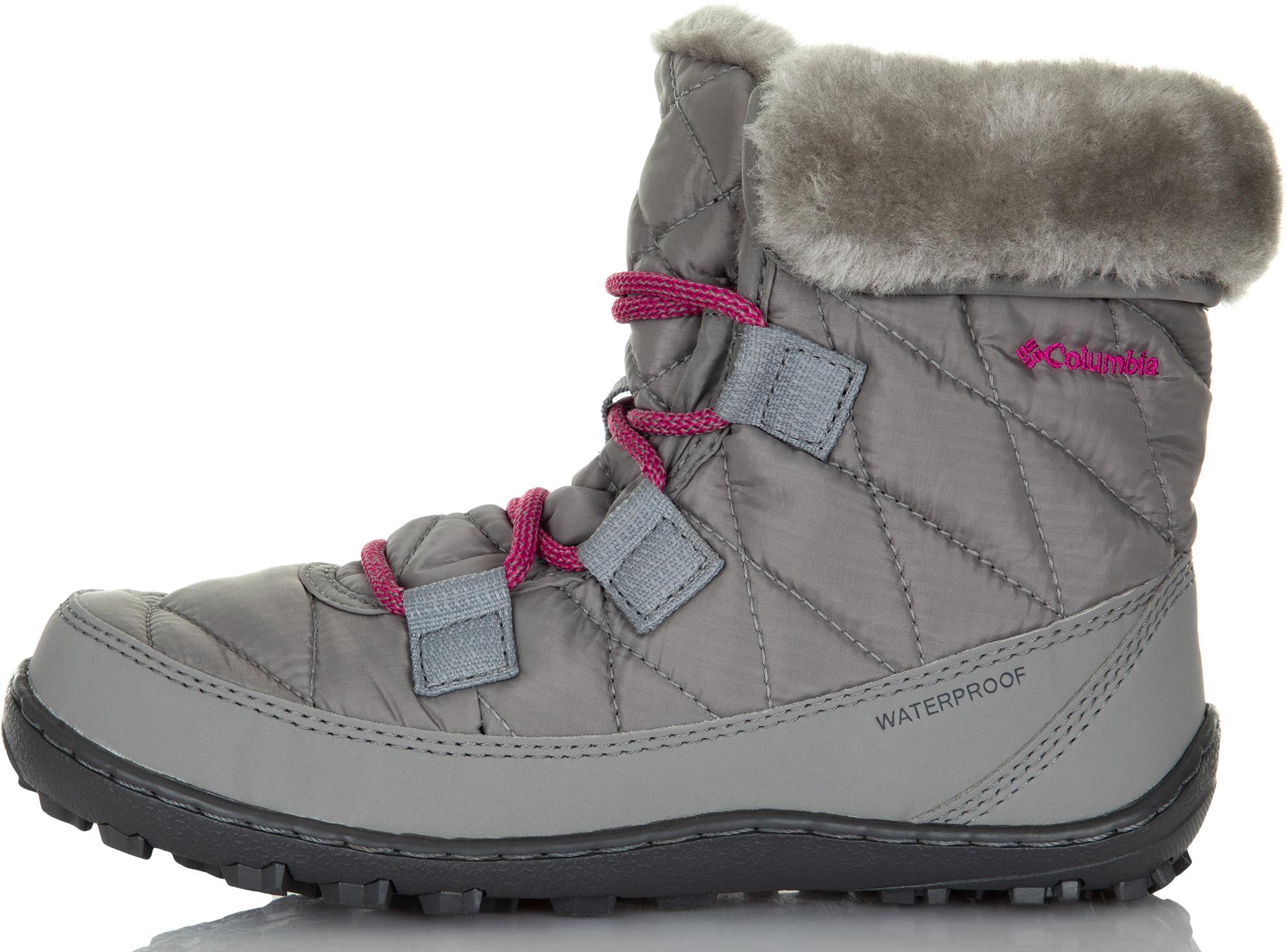 Columbia Ботинки утепленные для девочек Columbia Youth Minx, размер 31.5 недорого