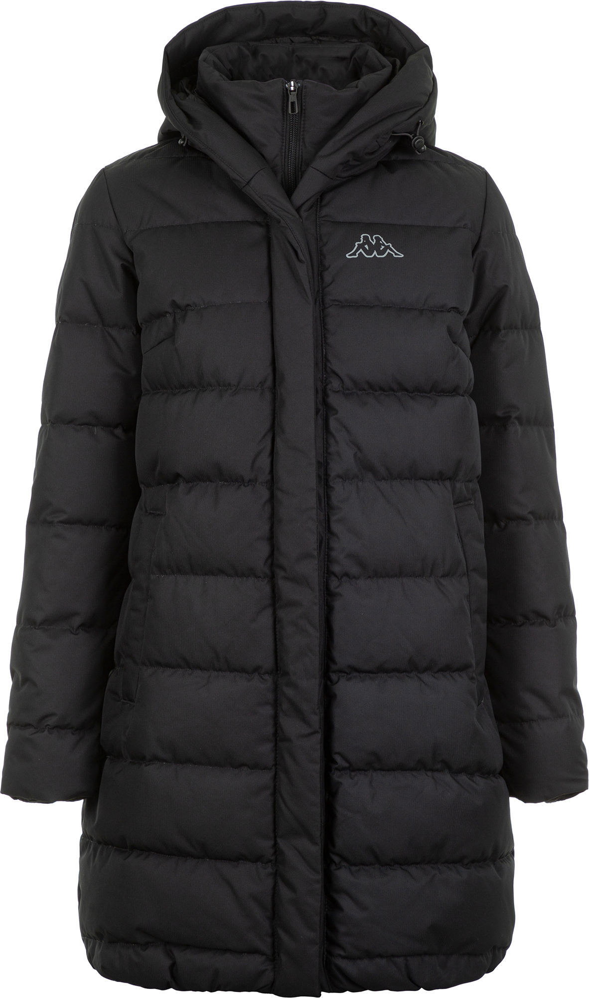 Фото - Kappa Куртка пуховая женская Kappa, размер 44 куртка женская pepe jeans цвет зеленый 097 pl401555 664 размер m 44 46