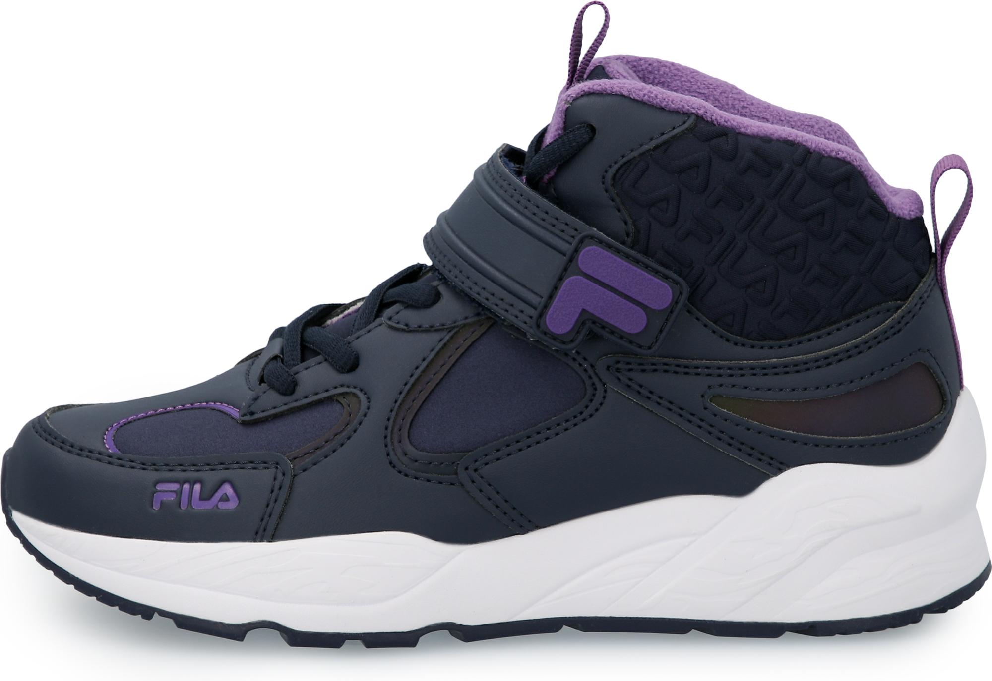 Кроссовки для девочек Fila Jaden Mid, размер 35