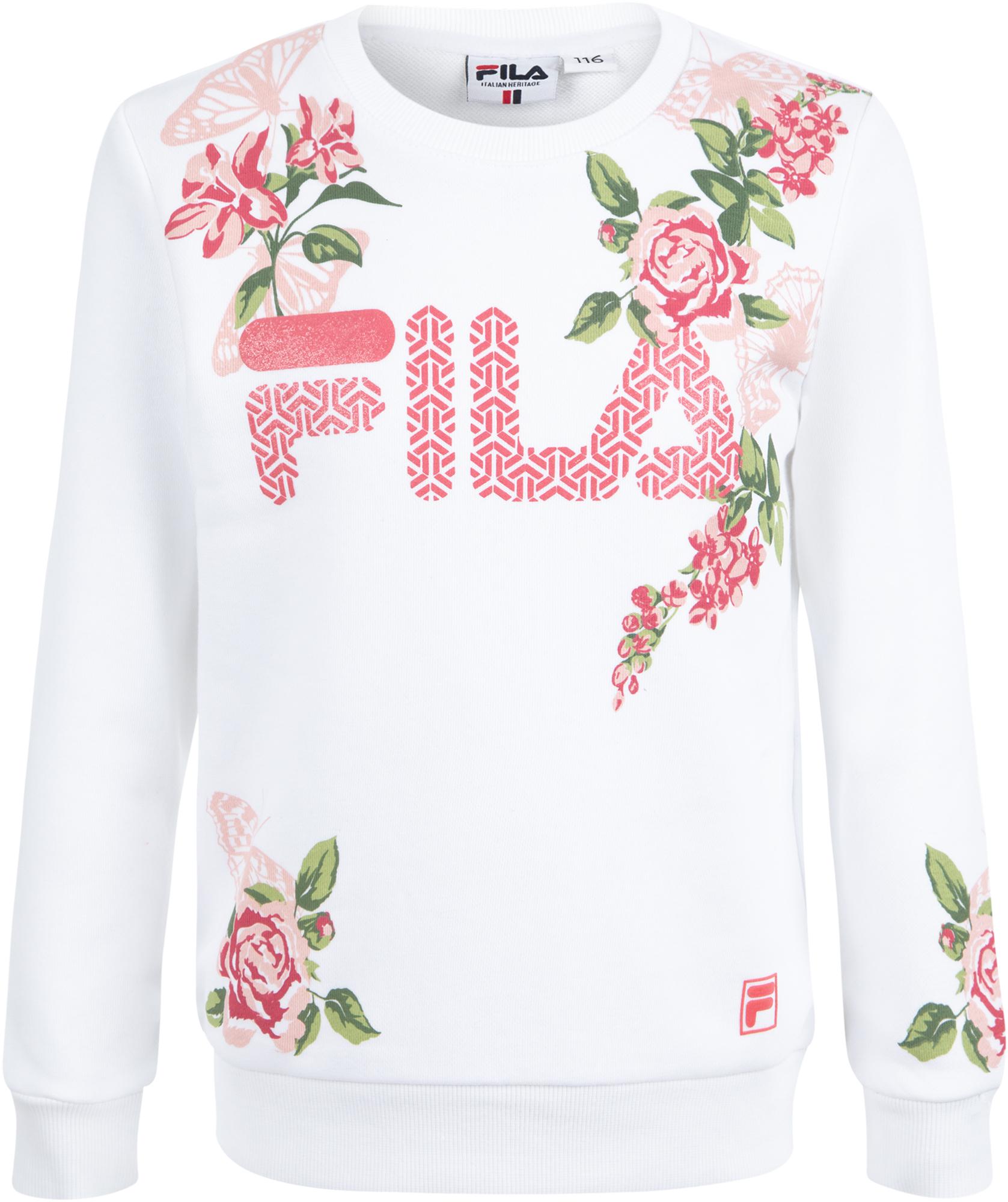 Fila Свитшот для девочек Fila, размер 122