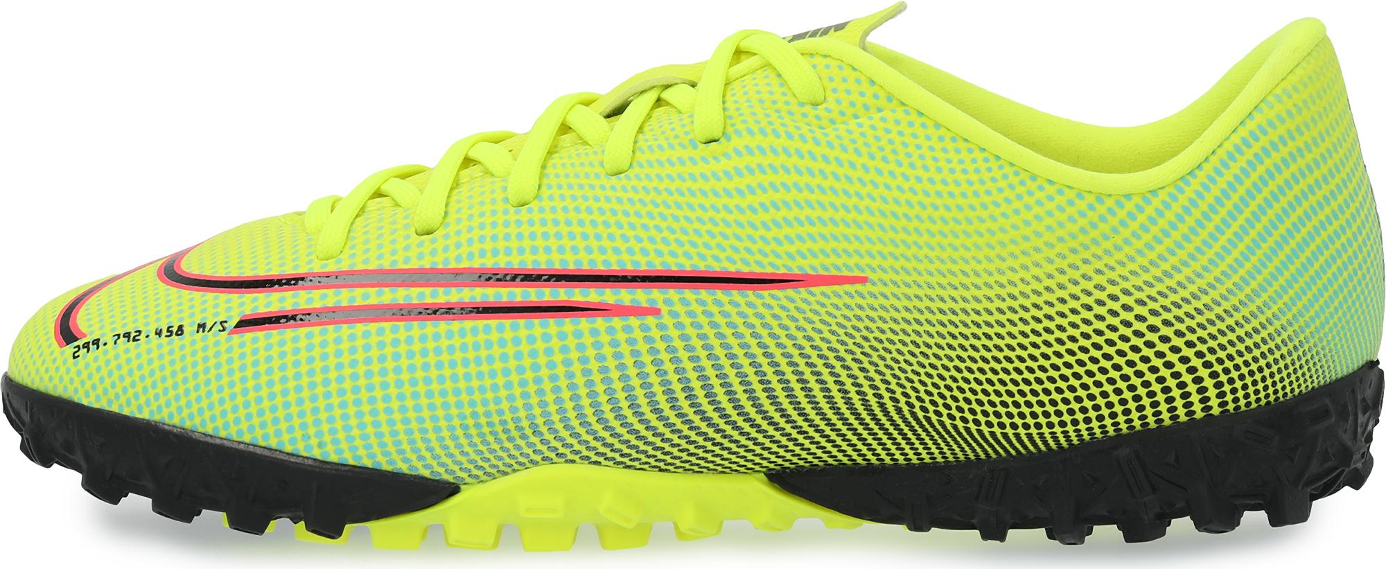 Фото - Nike Бутсы для мальчиков Nike Vapor 13 Academy MDS TF, размер 34 шиповки детские nike vapor 13 academy neymar tf at8144 104