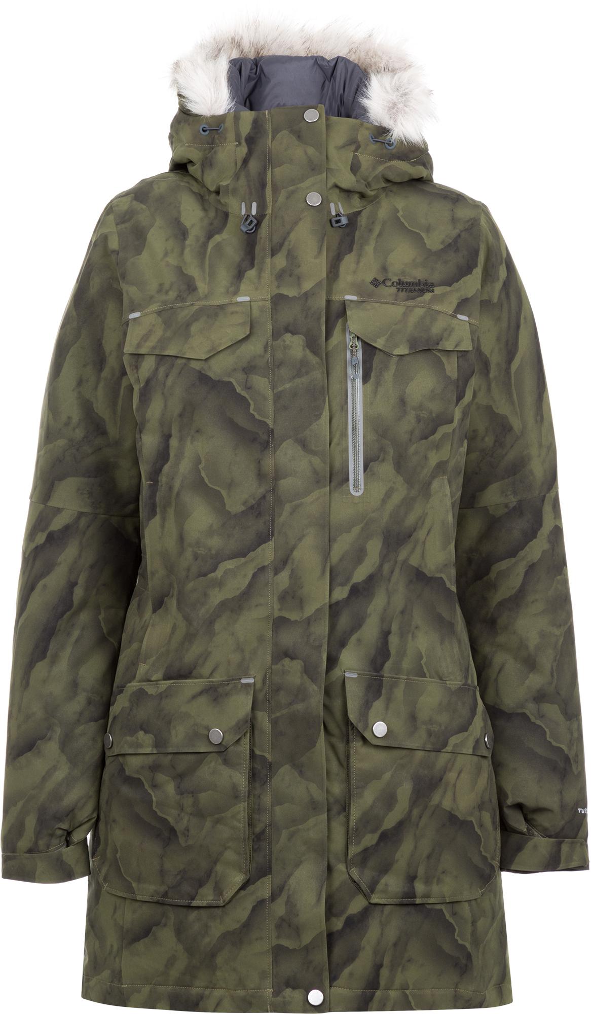 Columbia Куртка пуховая женская Columbia Titan Pass 780 TurboDown, размер 48 pajar куртка пуховая женская cougar xl jet black