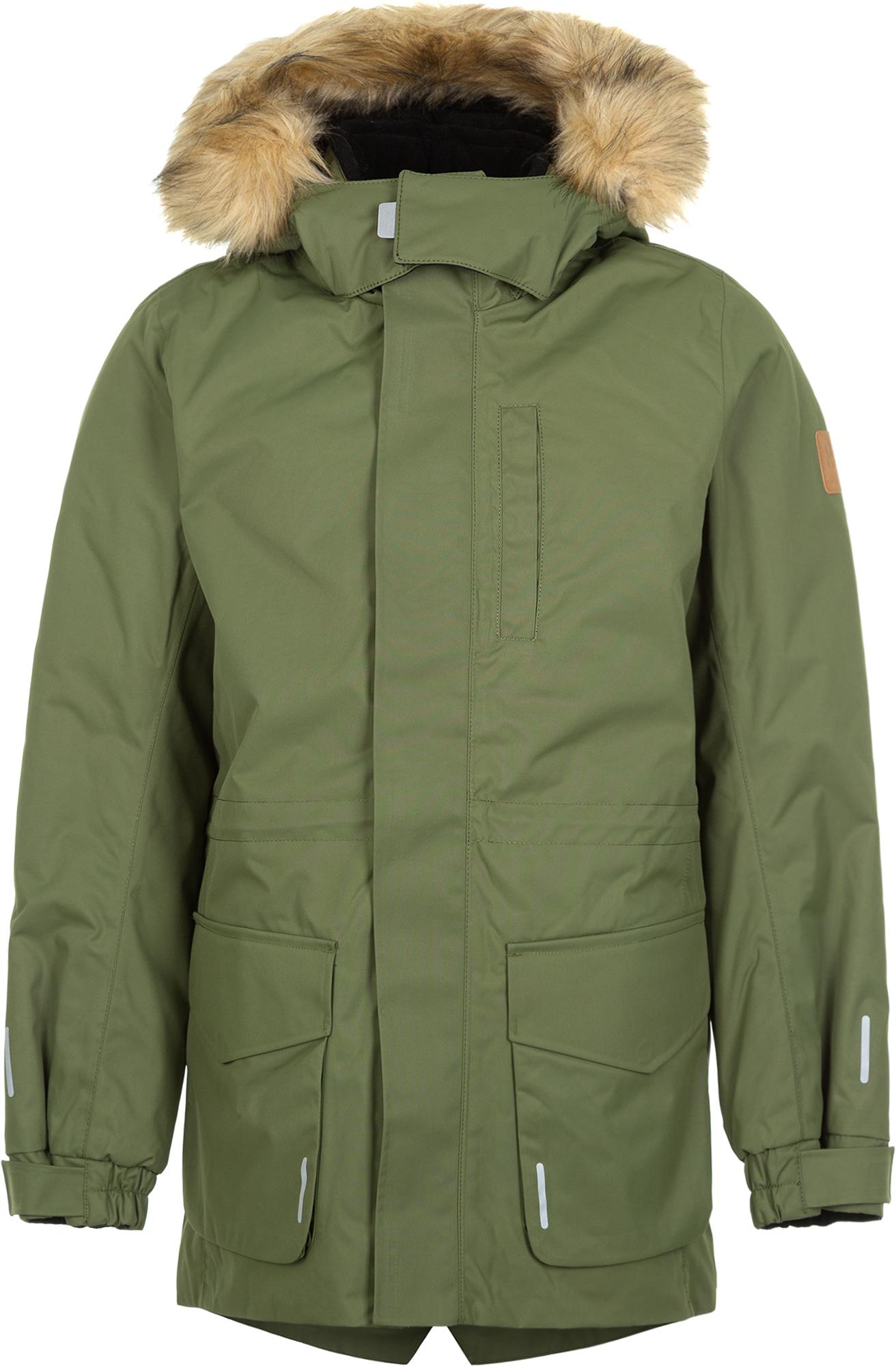 Reima Куртка утепленная для мальчиков Naapuri, размер 158