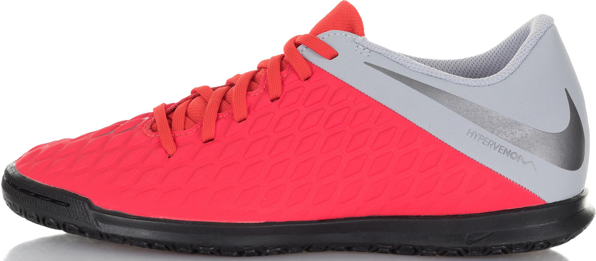 Nike Бутсы мужские Nike Hypervenom 3 Club IC, размер 41 nike бутсы мужские nike neymar vaporx 12 club ic размер 41 5