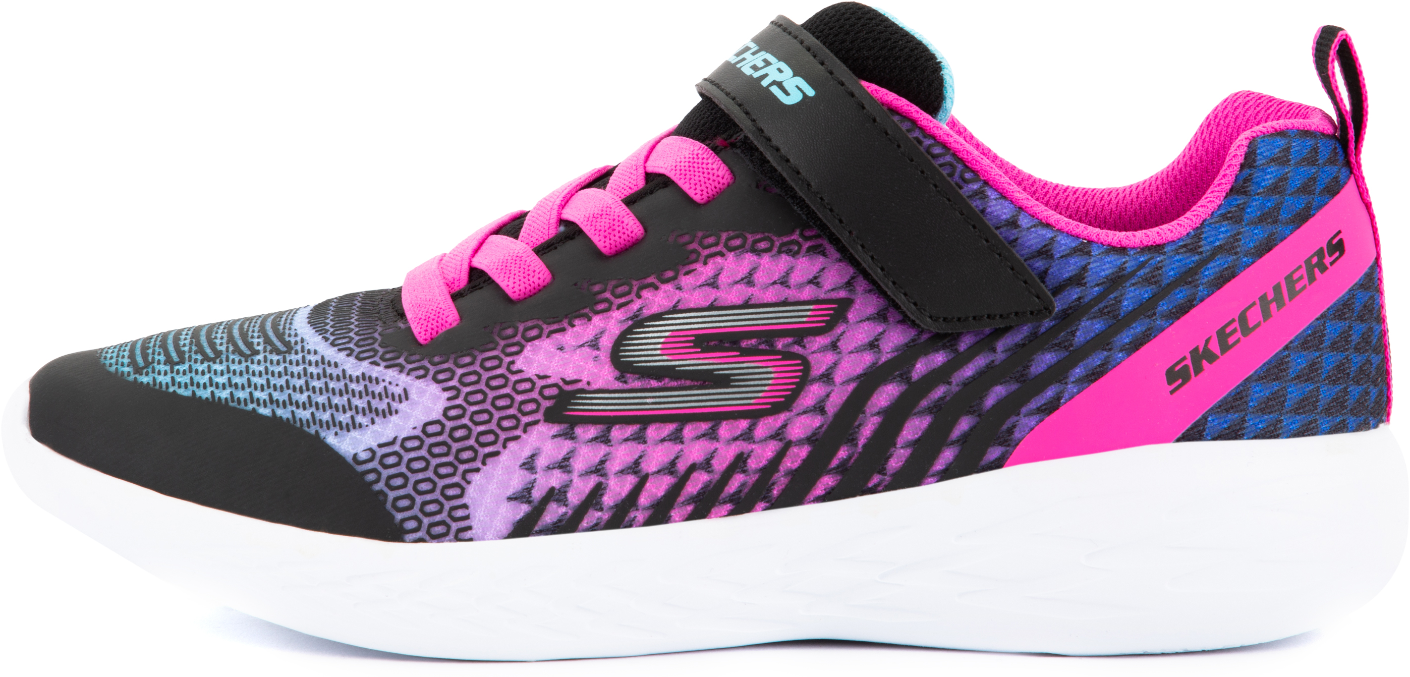 skechers кроссовки для девочек skechers go run 600 sparkle speed размер 38 Skechers Полуботинки для девочек Skechers Go Run 600-Radiant Runner, размер 27