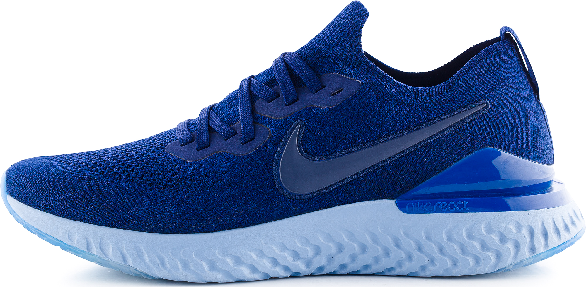 Nike Кроссовки мужские Nike Epic React Flyknit 2, размер 44 nike боксерки мужские nike machomai размер 44