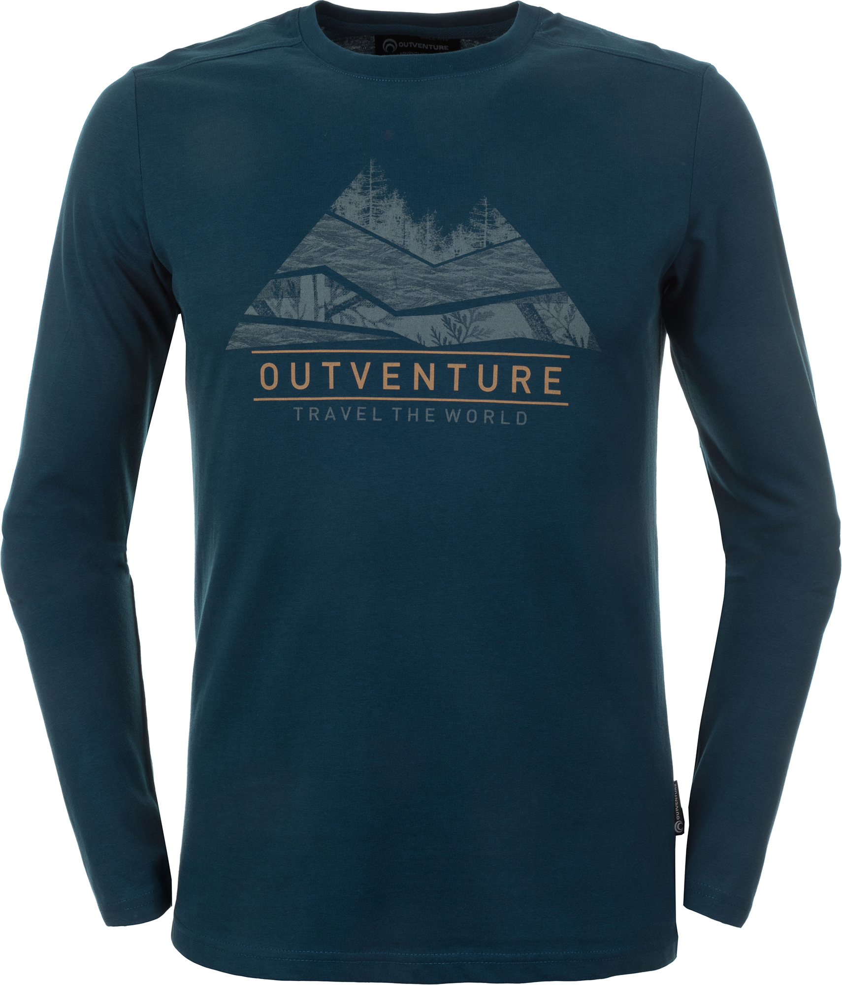 Outventure Футболка с длинным рукавом мужская Outventure, размер 56