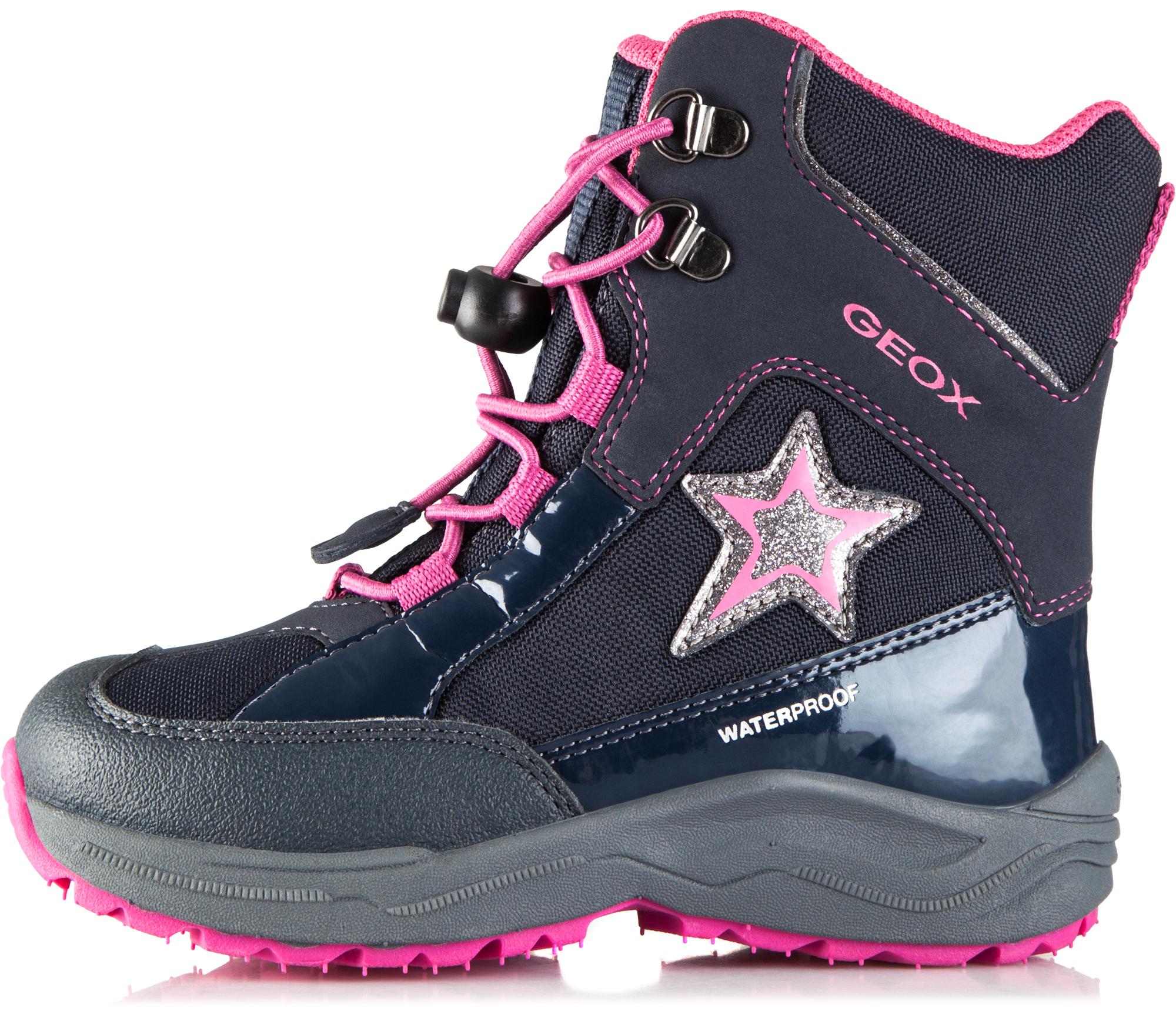 Geox Сапоги утепленные для девочек New Alaska, размер 31