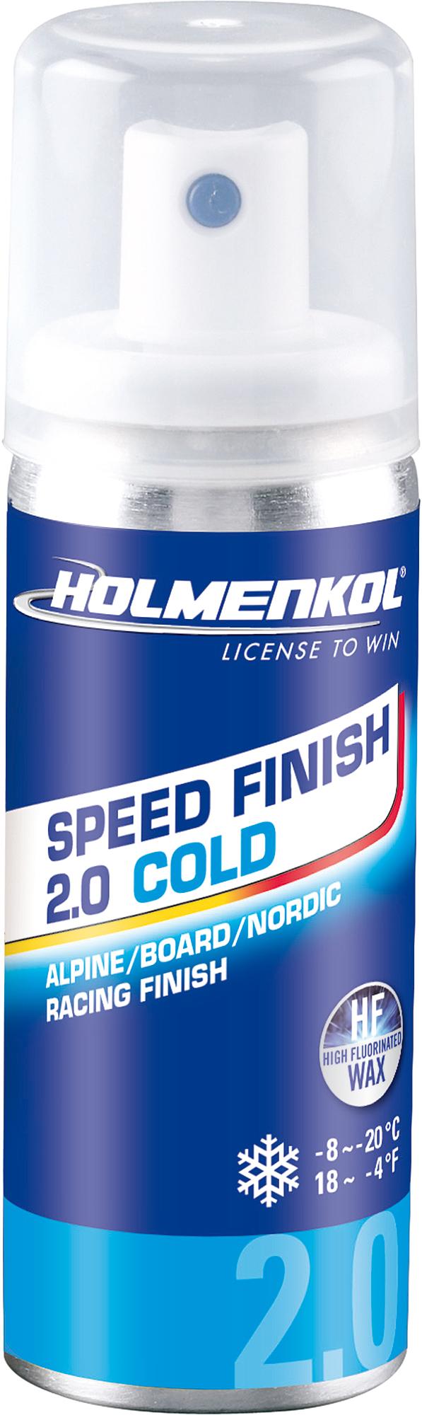 Holmenkol Эмульсия фторуглеродная для лыж и сноубордов HOLMENKOL Speed Finish2.0 COLD