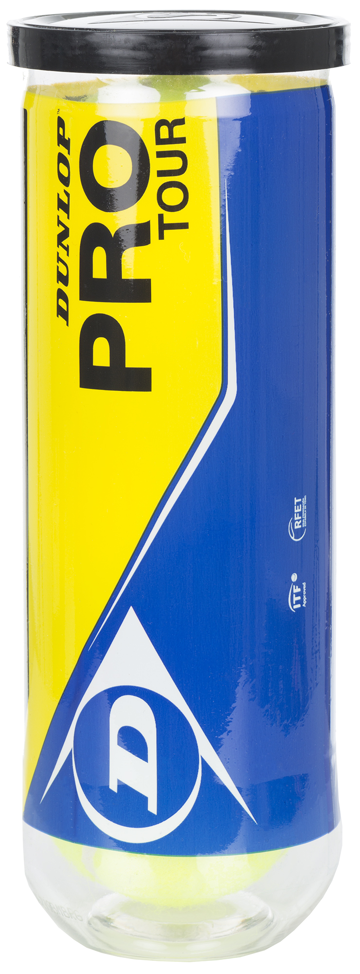 Dunlop Набор теннисных мячей Dunlop Pro Tour, 3 шт поясничный отруб 1 3 стриплойн в вакуумной упаковке заречное