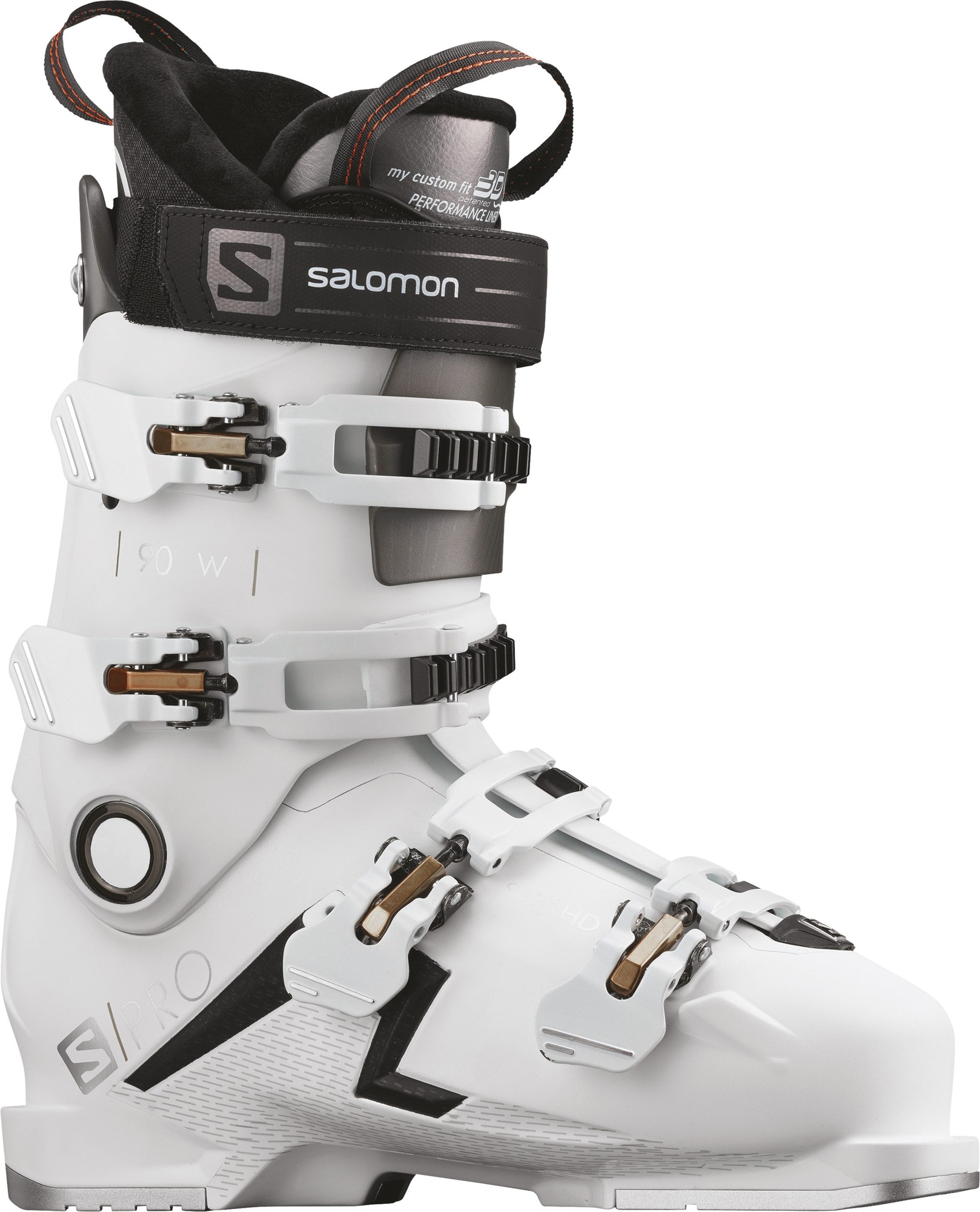 Salomon Ботинки горнолыжные женские Salomon S/PRO 90, размер 26 см женские пуховики куртки new brand 90