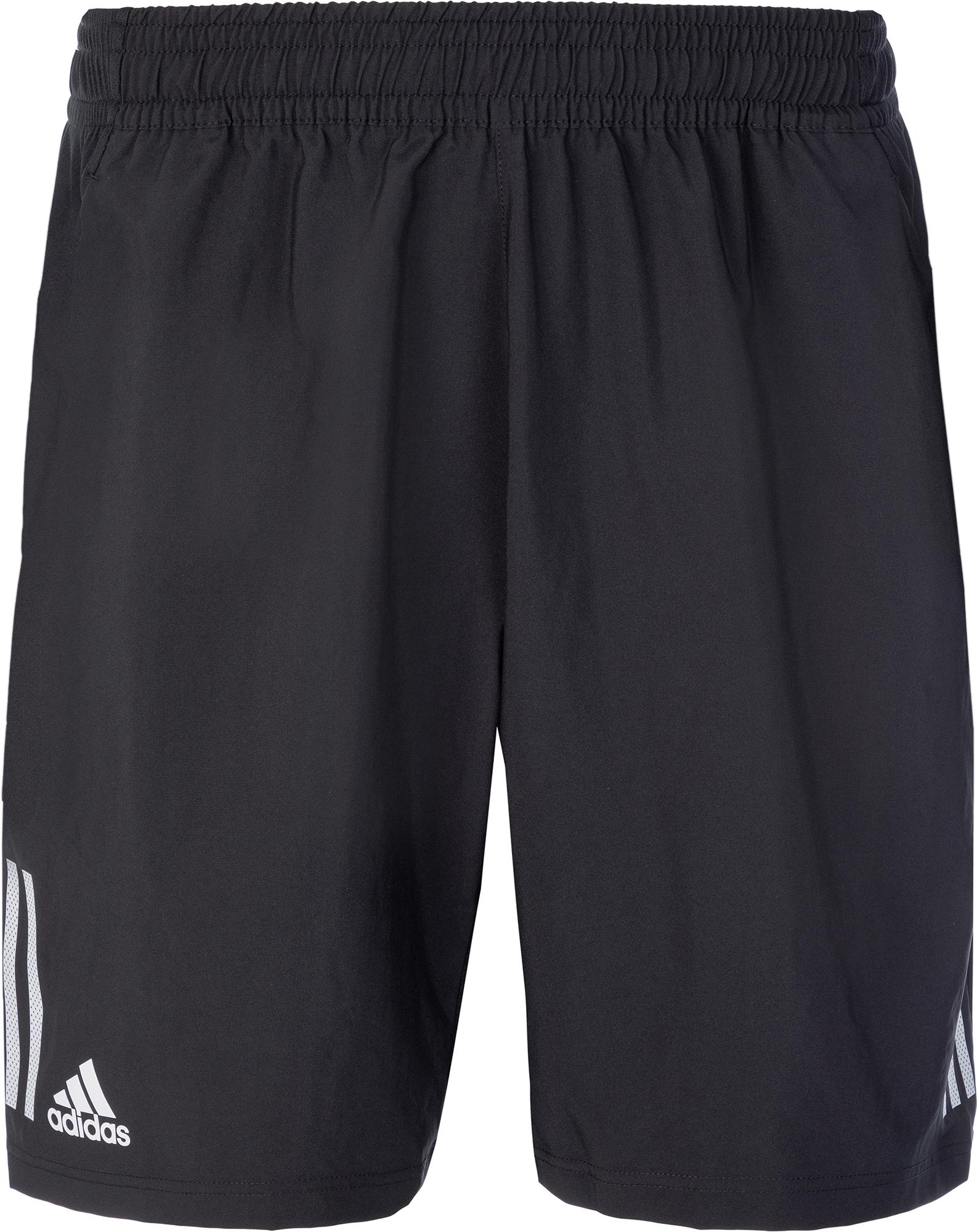 Adidas Шорты мужские Adidas 3-Stripes 9-Inch, размер 44-46 шорты для тенниса мужские adidas uncontrol climachill цвет черный b45842 размер l 52 54