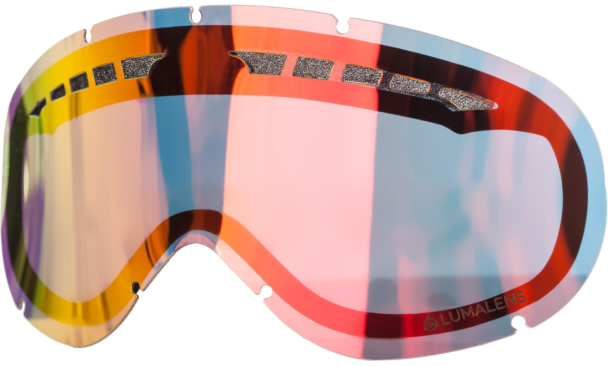 Dragon Линза для маски Dragon DX RPL LENS - Lumalens Red Ion маска для сноуборда dragon nfxs plot pink ion yellow