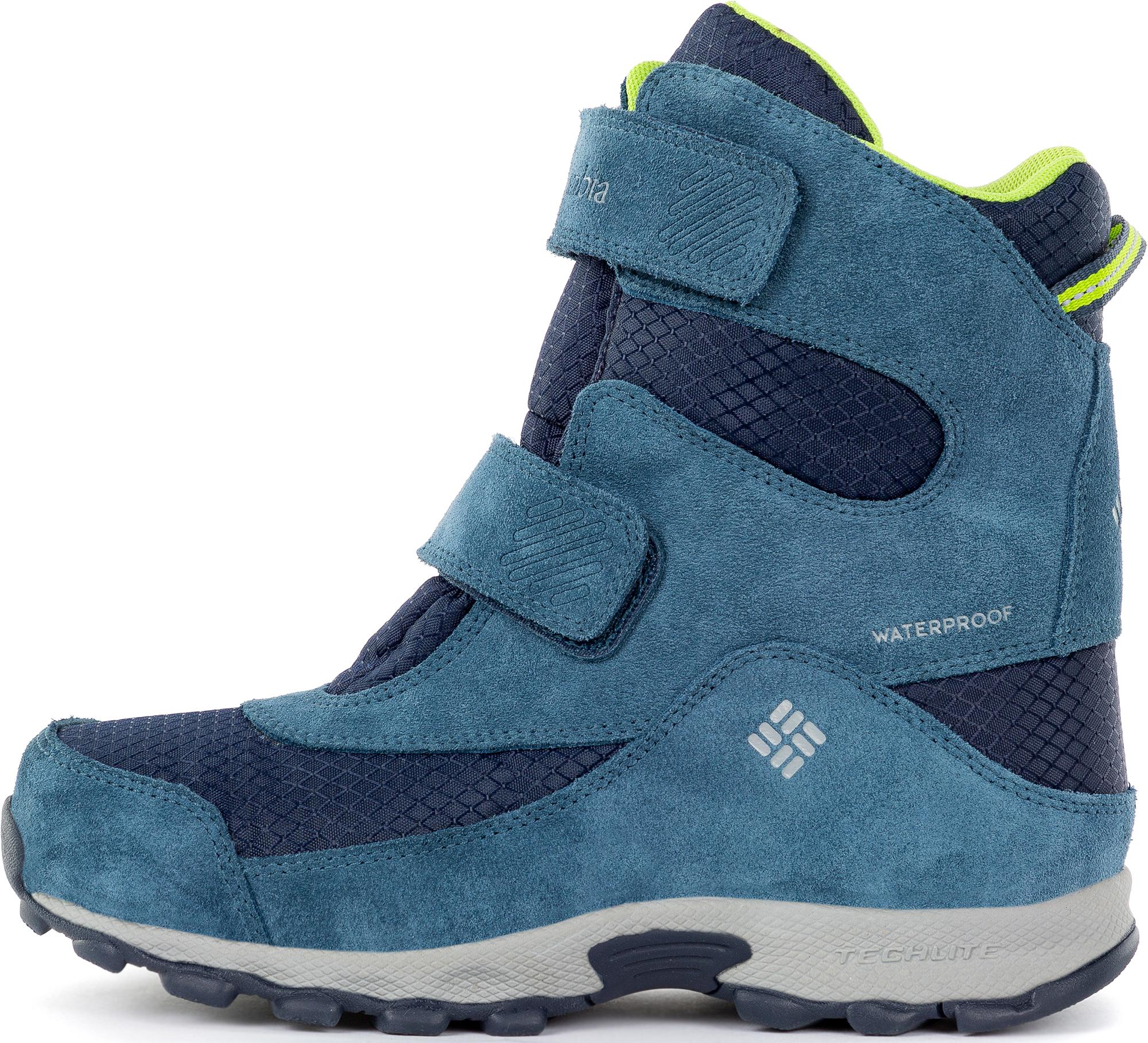 Columbia Ботинки утепленные для мальчиков Youth Parkers Peak, размер 39