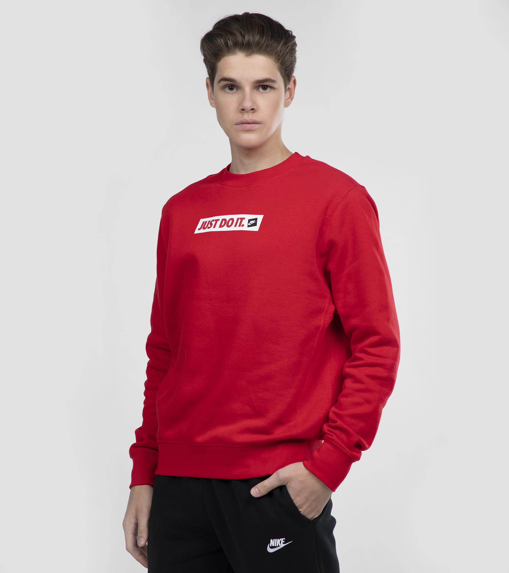 Nike Свитшот мужской Nike JDI Crew, размер 52-54 топ nike топ w np tank jdi