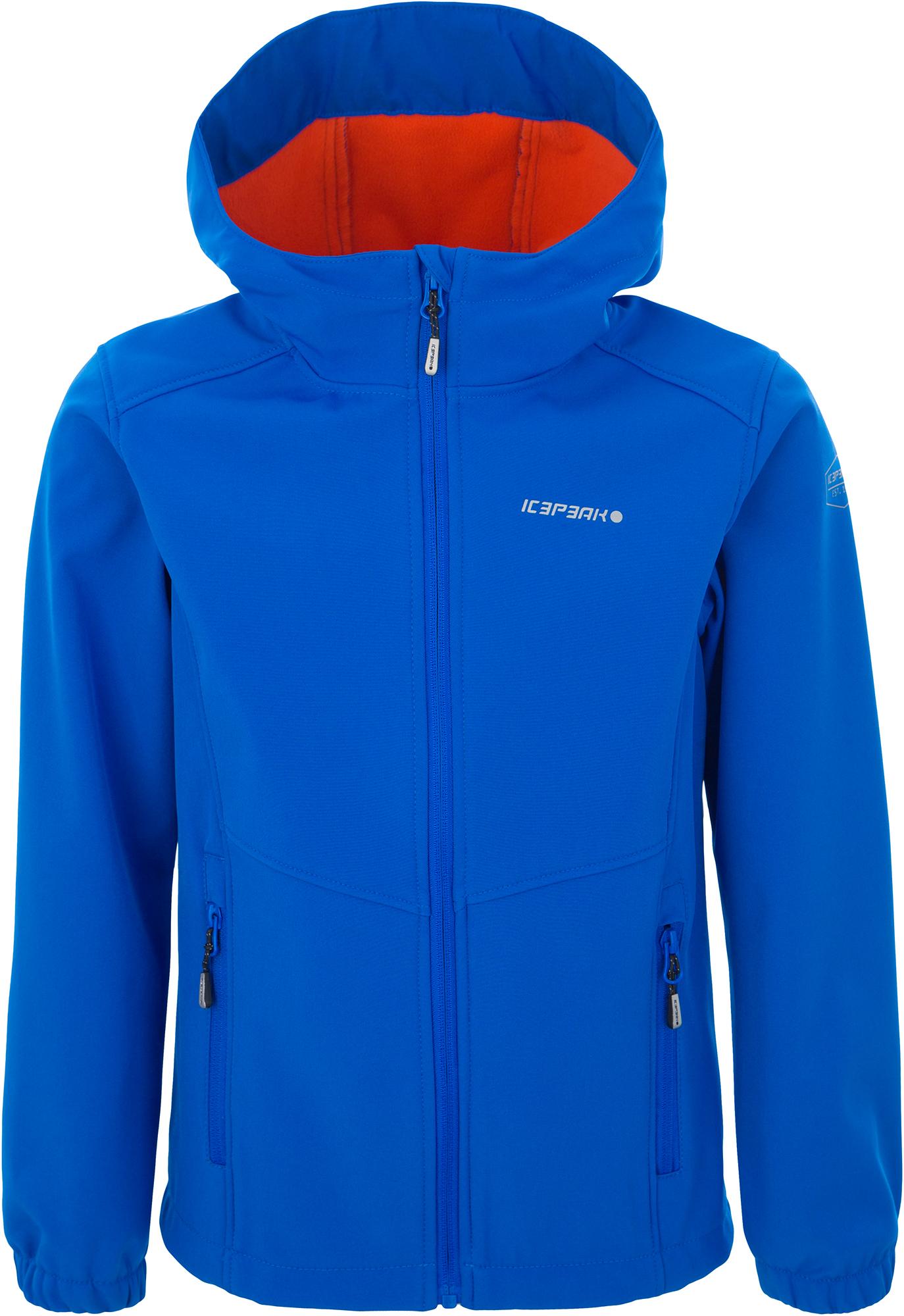 IcePeak Куртка софт-шелл для мальчиков IcePeak Teiko, размер 176 icepeak перчатки для мальчиков icepeak ivy размер без размера