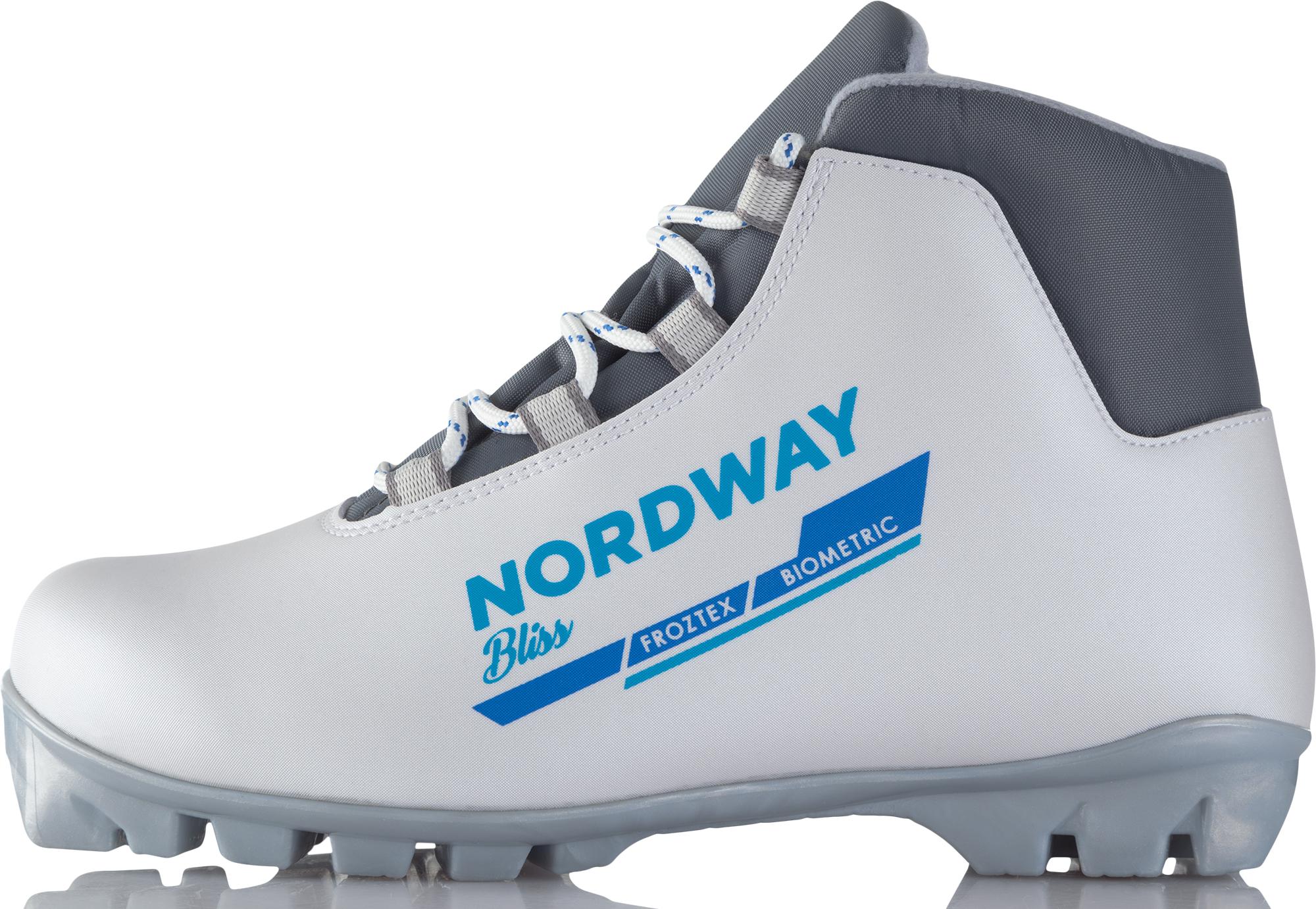 Nordway Ботинки для беговых лыж женские Nordway Bliss, размер 41 nordway палки для беговых лыж женские nordway bliss размер 150