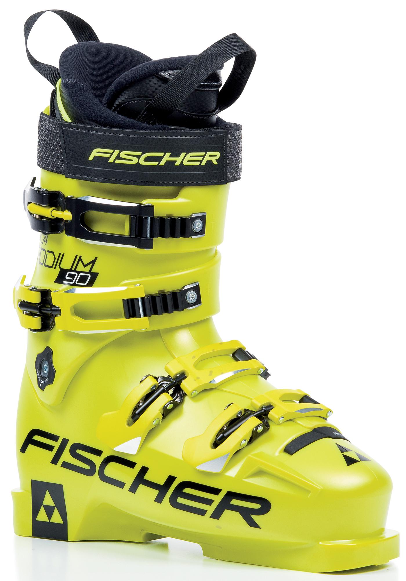 Fischer Ботинки горнолыжные детские Fischer RC4 Podium 90, размер 39.5