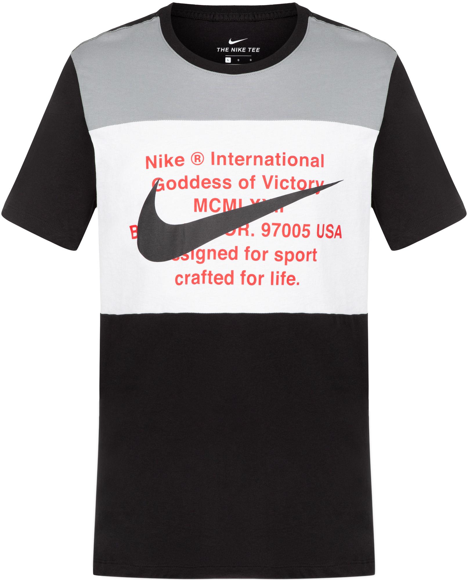 Nike Футболка мужская Nike Swoosh, размер 44-46 футболка nike nike ni464ebdsld9