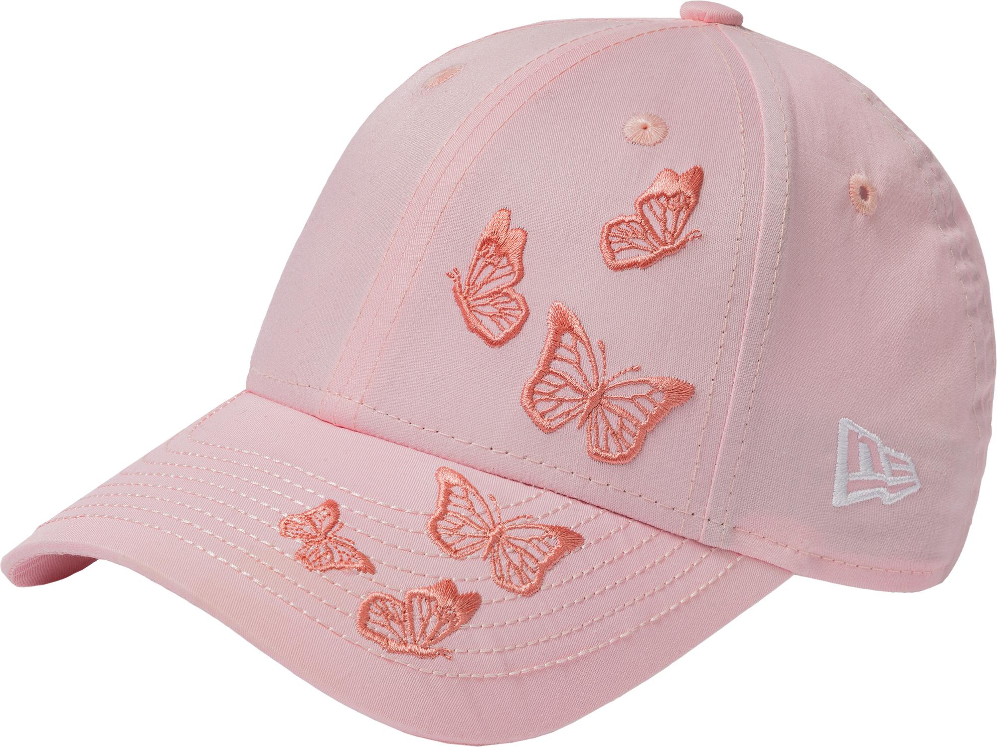 New Era Бейсболка для девочек New Era Butterfly 940, размер 54-55 new era бейсболка для девочек new era butterfly 940 размер 54 55