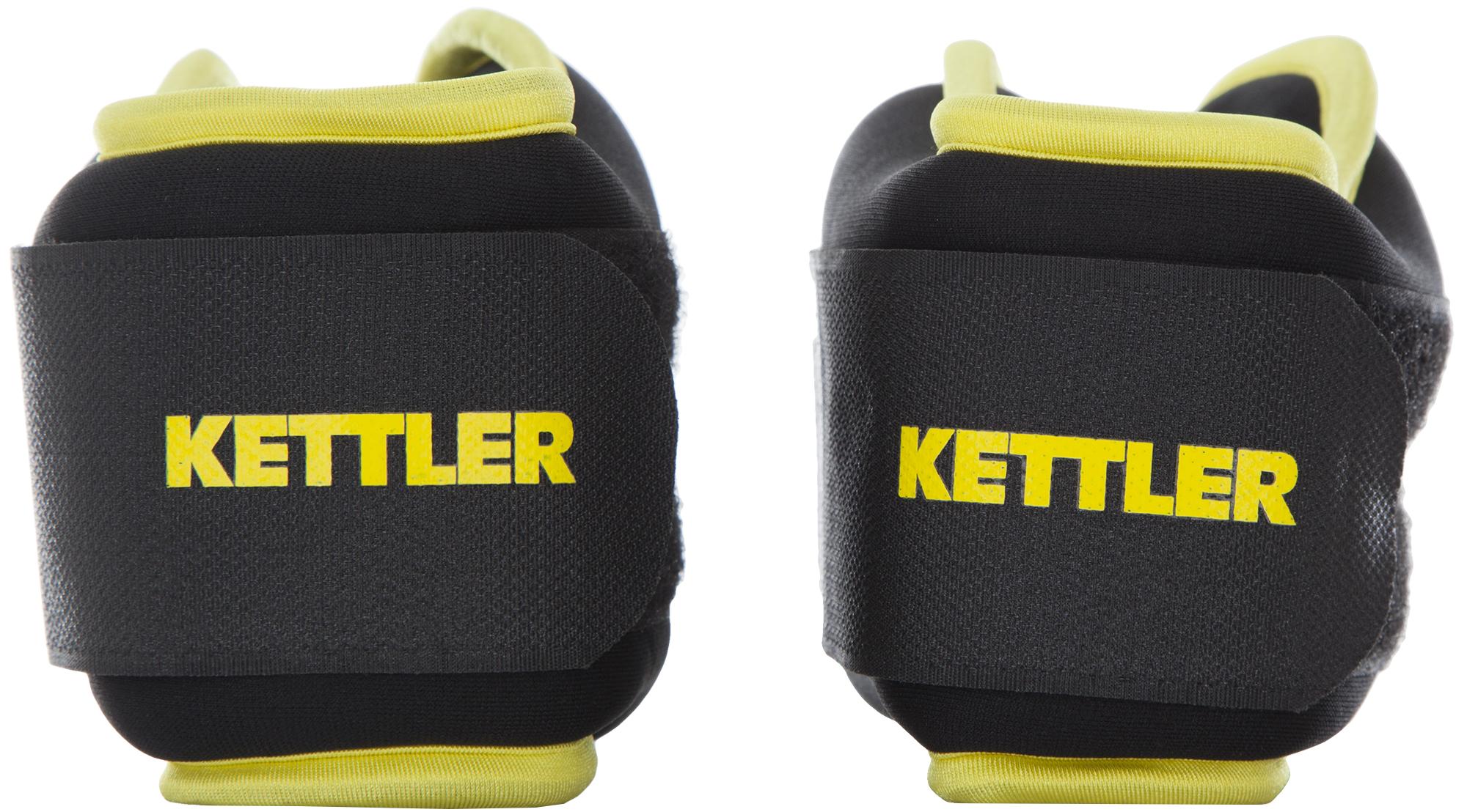 Kettler Утяжелители для рук Kettler, 2 х 1,5 кг утяжелители atemi цвет черный 2 х 2 кг