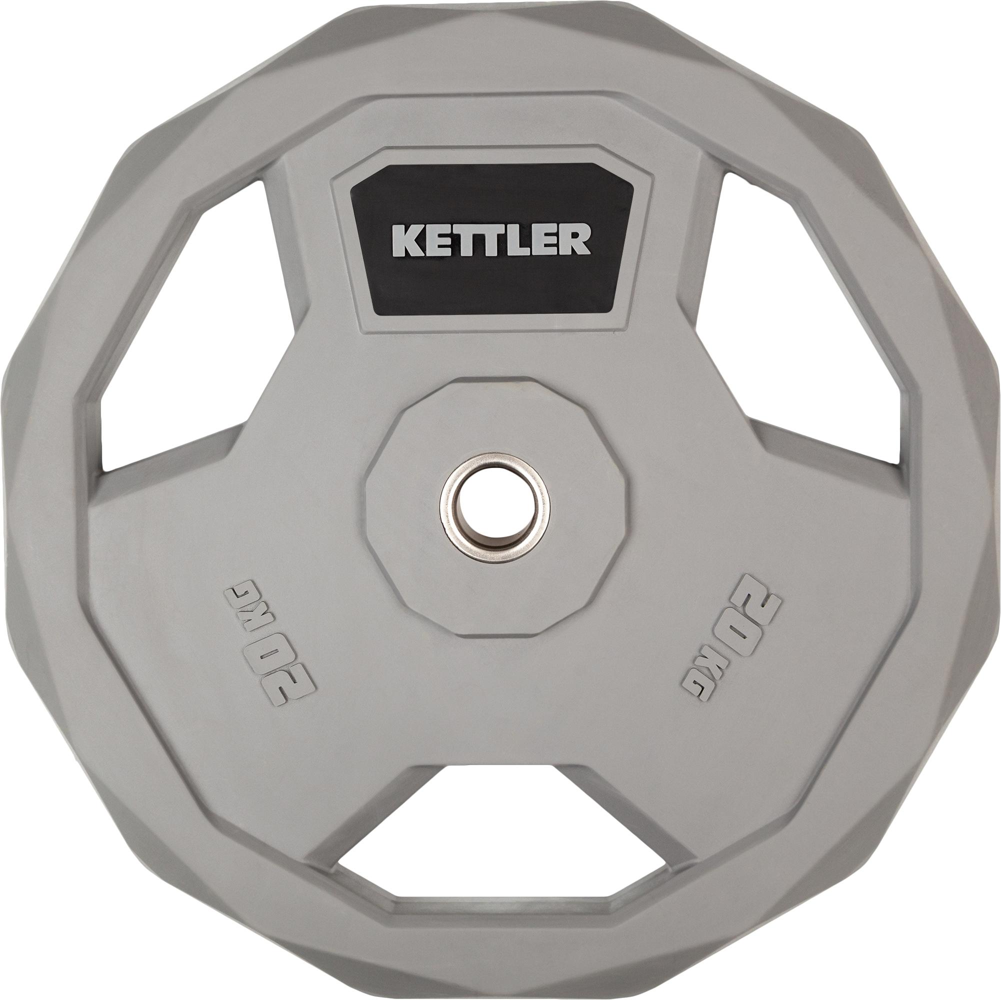 Kettler Блин стальной обрезиненный Kettler 20 кг