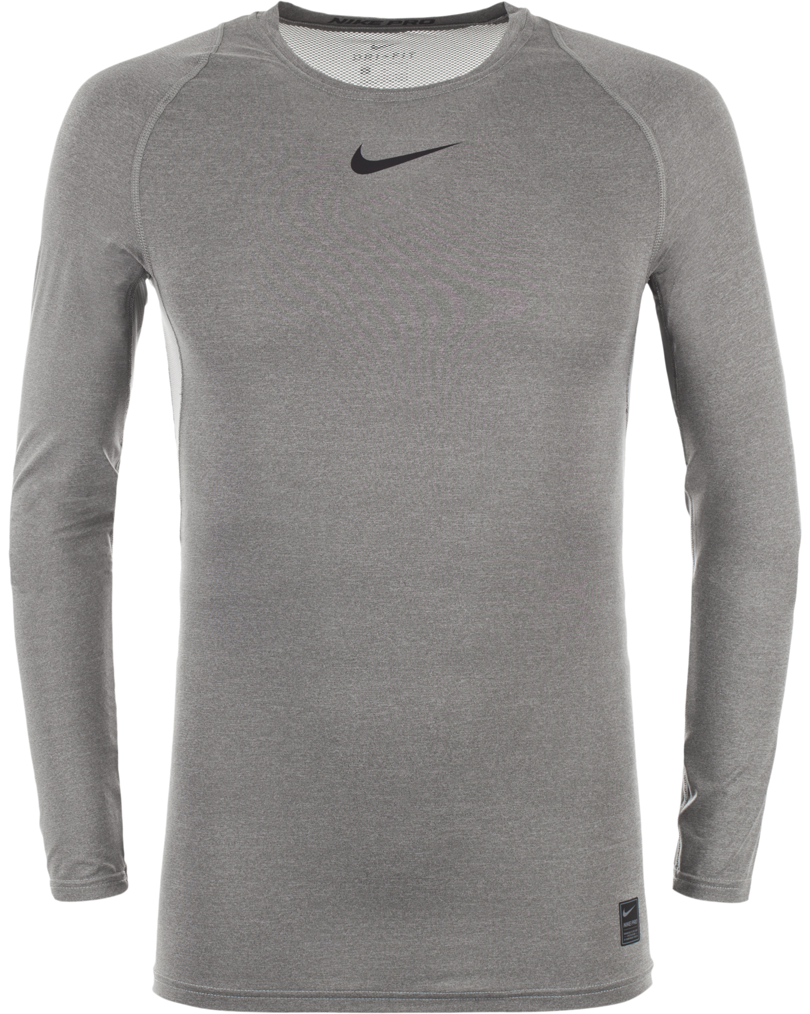 Nike Футболка с длинным рукавом мужская Nike Pro, размер 52-54 цена