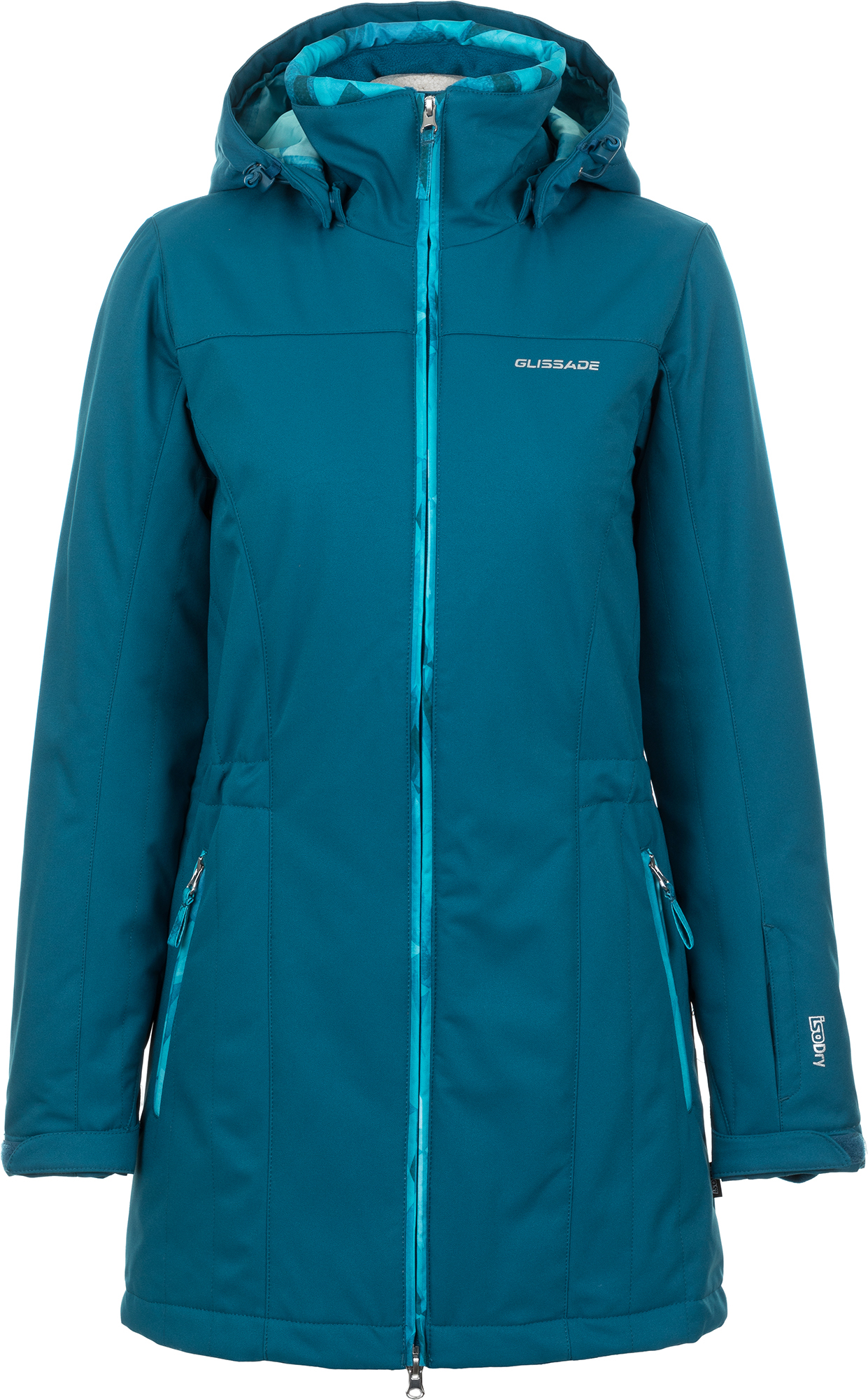 Glissade Куртка утепленная женская Glissade, размер 56 prada утепленная куртка на молнии