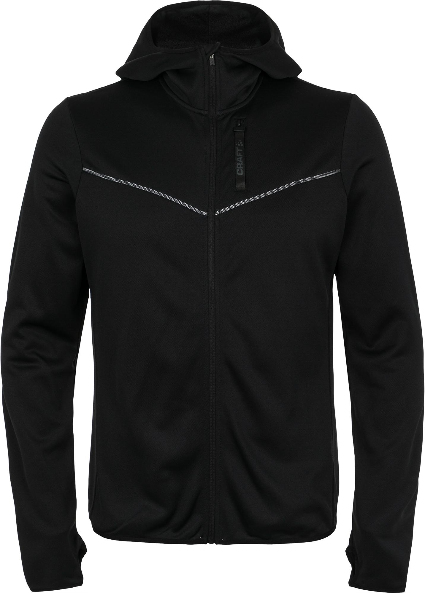Craft Толстовка мужская Eaze FZ Sweat Hood, размер 50-52