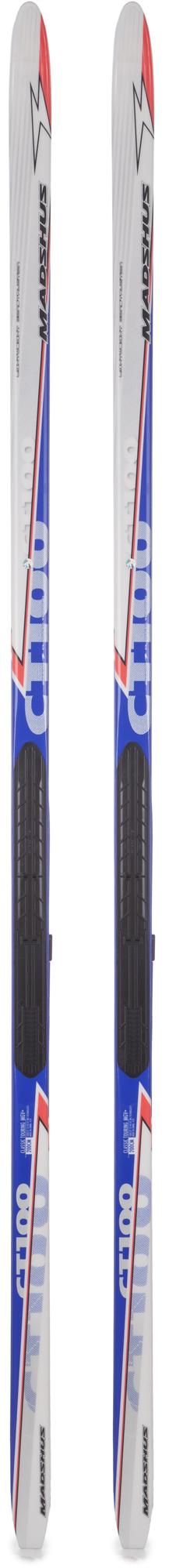 Madshus Беговые лыжи Madshus CT 100 MGV+ Skis XC sport лыжи беговые tisa top universal с креплением цвет желтый белый черный рост 182 см