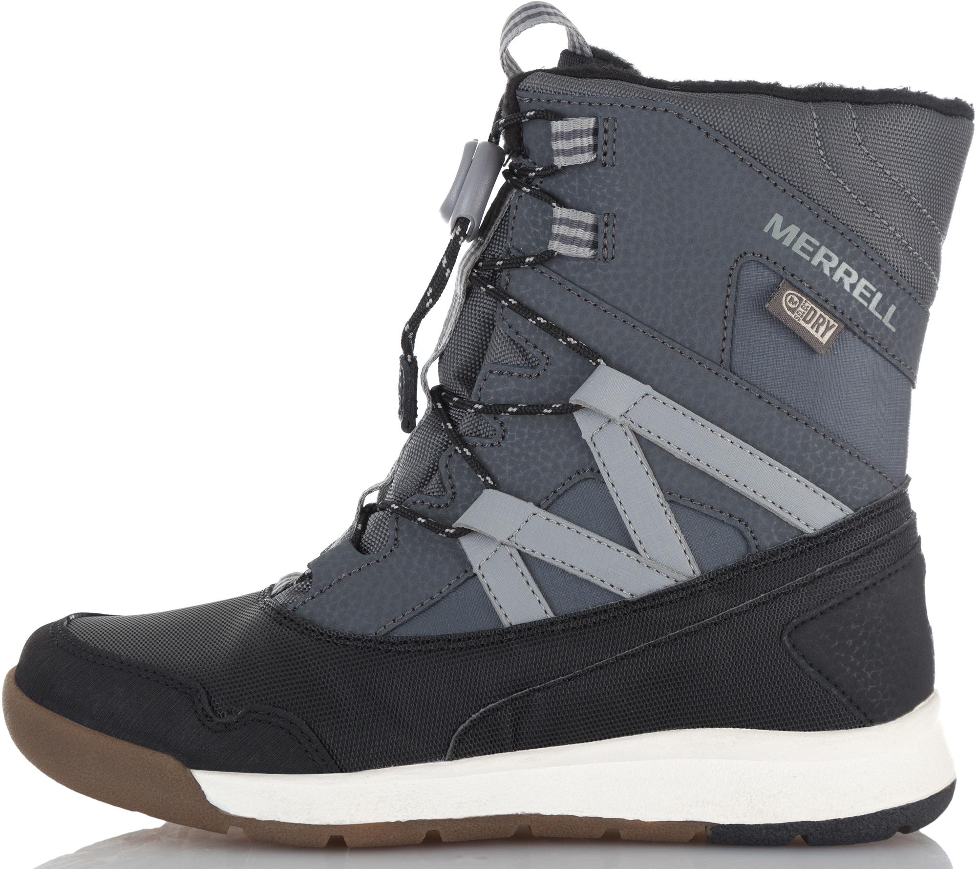 Merrell Ботинки утепленные для мальчиков M-Snow Crush Wtrpf, размер 40,5