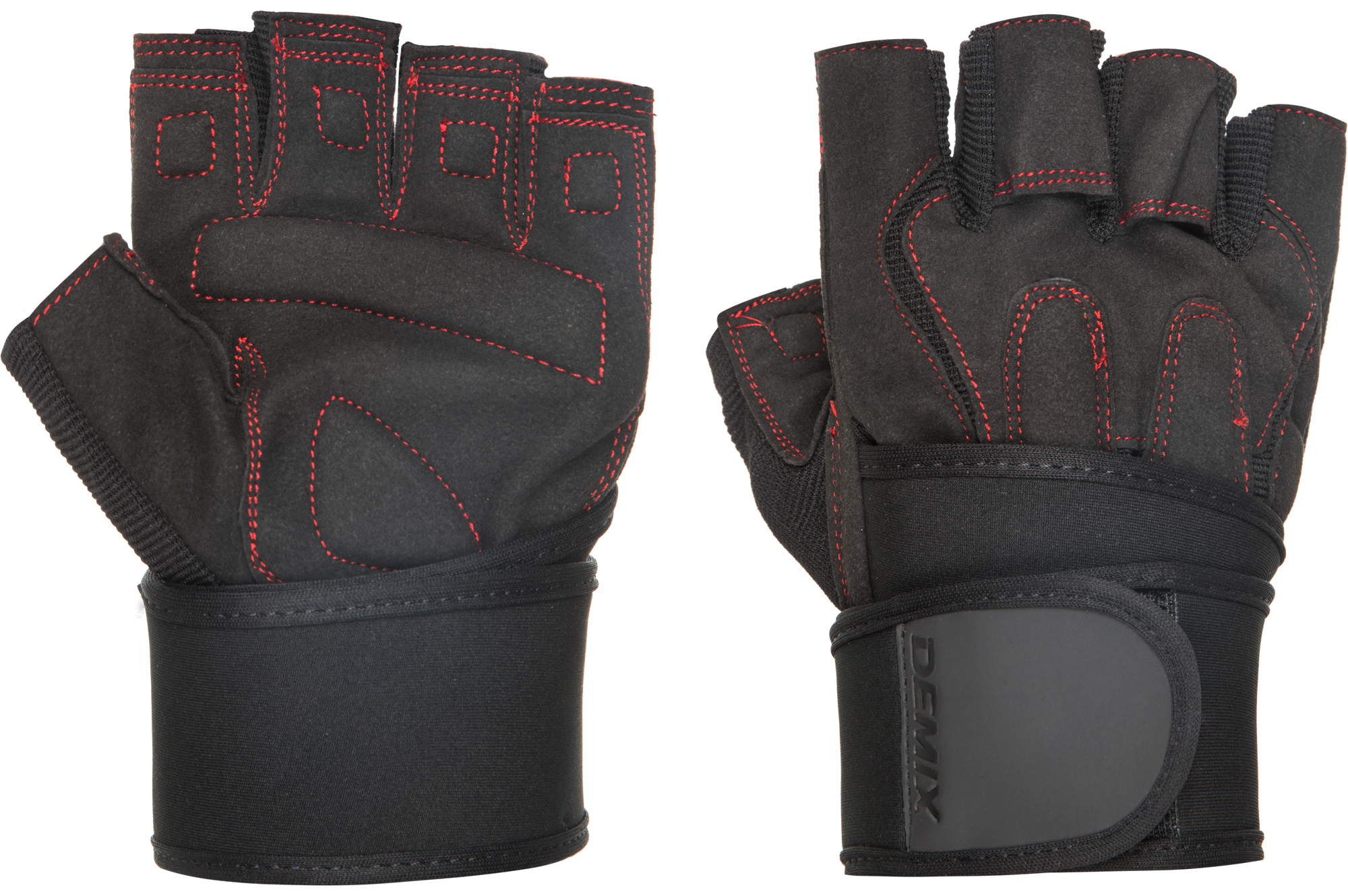 Demix Перчатки атлетические с фиксатором Fitness Gloves With Wrist Strap, размер 54