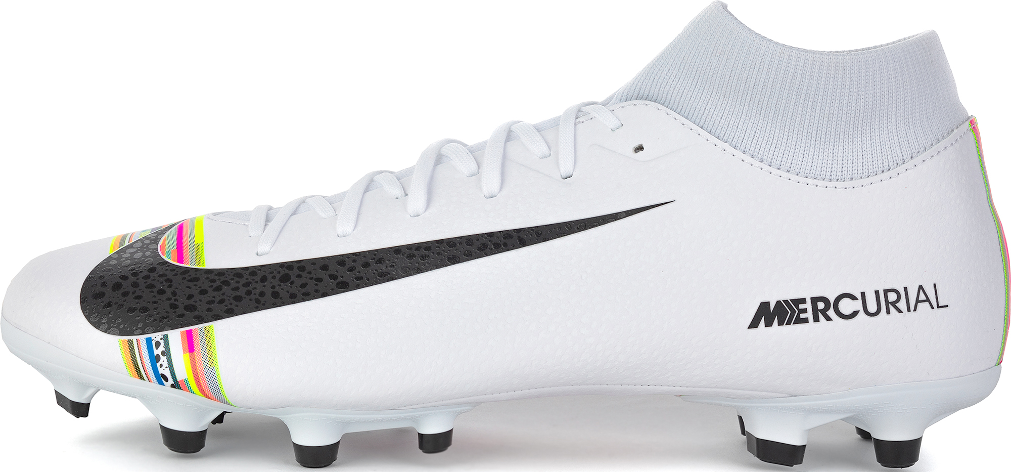 Nike Бутсы мужские Mercurial Superfly 6 Academy CR7 FG/MG, размер 45