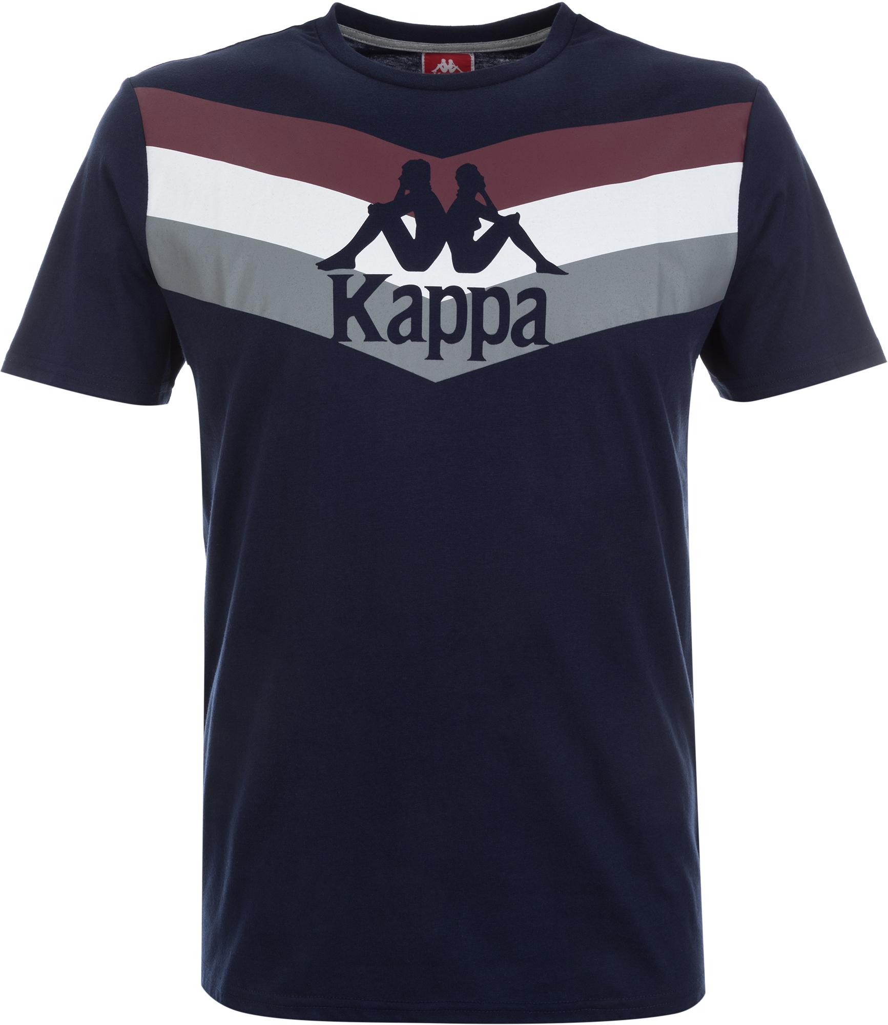 Kappa Футболка мужская Kappa, размер 56 kappa kappa kp 1411l f