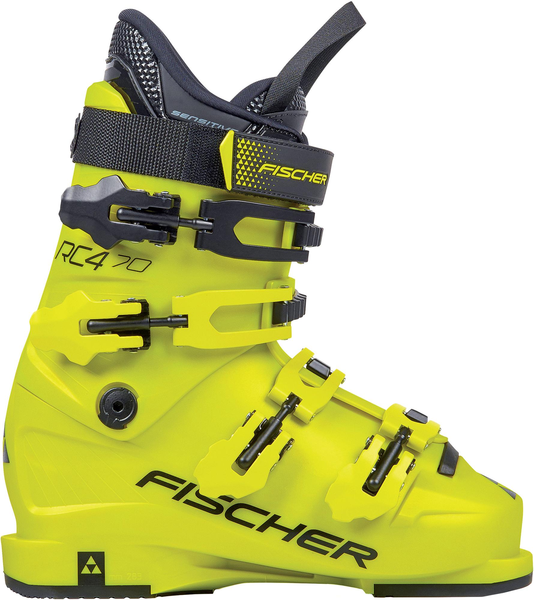 Fischer Ботинки горнолыжные детские Fischer RC4 70, размер 24