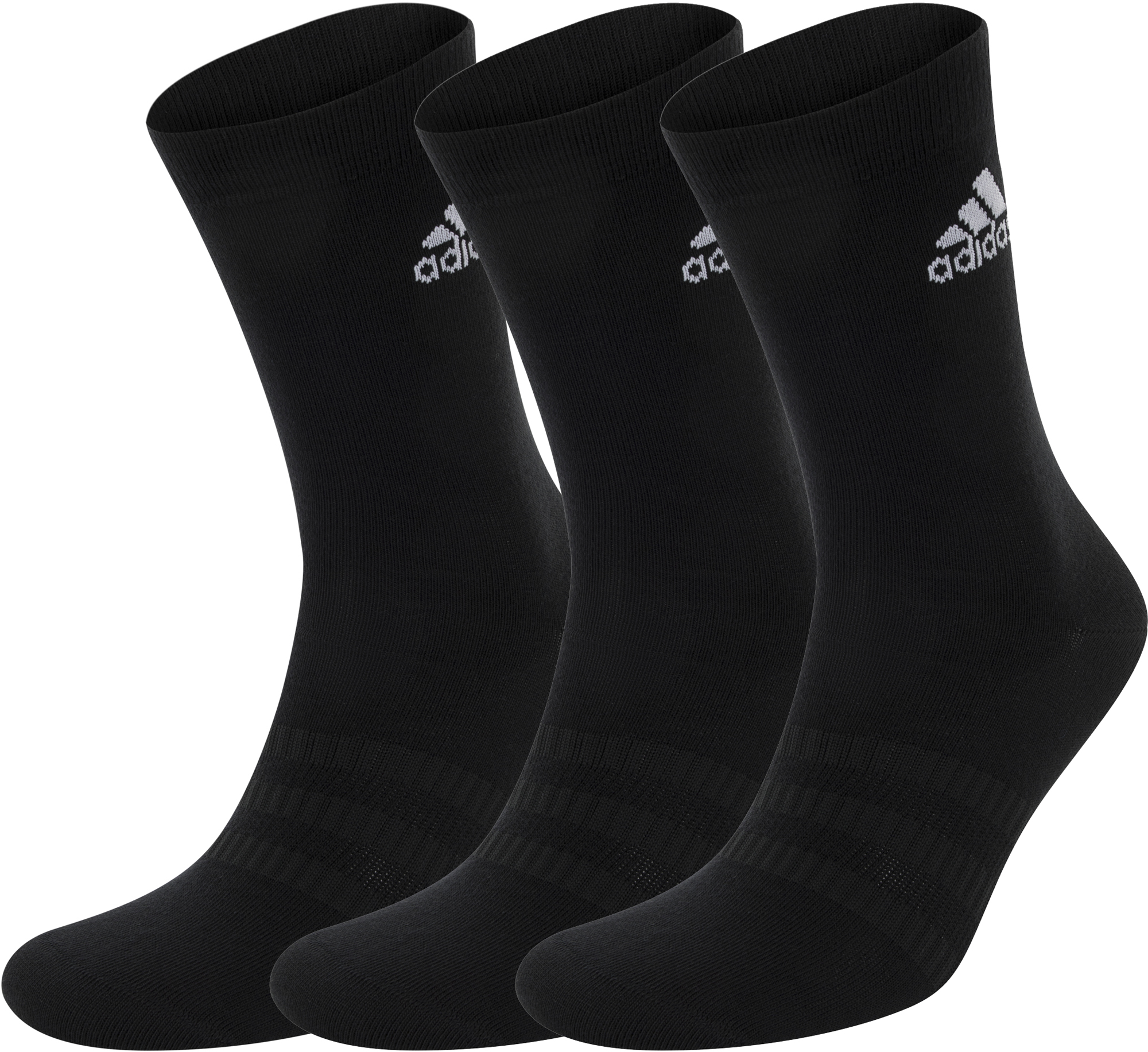Adidas Носки Adidas Crew, 3 пары, размер 46-48 цена 2017