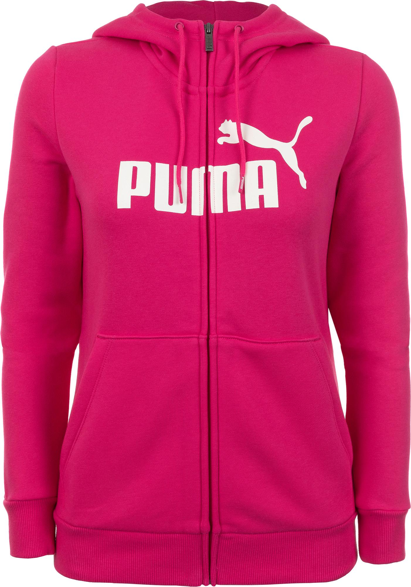 Puma Джемпер женский Puma Ess Logo Hooded, размер 48-50