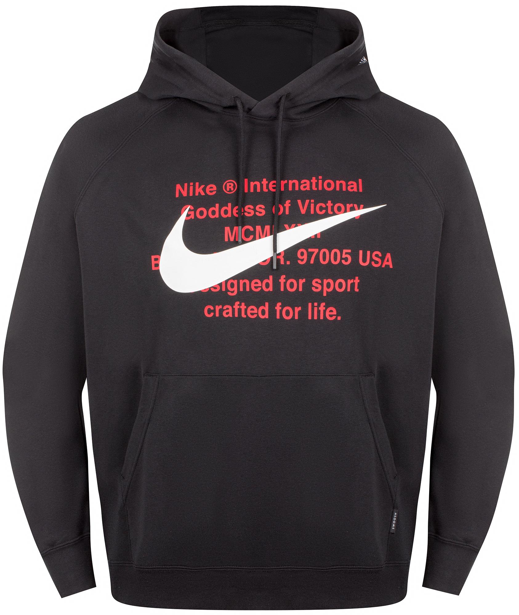 цена Nike Худи мужская Nike Sportswear Swoosh, размер 52-54 онлайн в 2017 году
